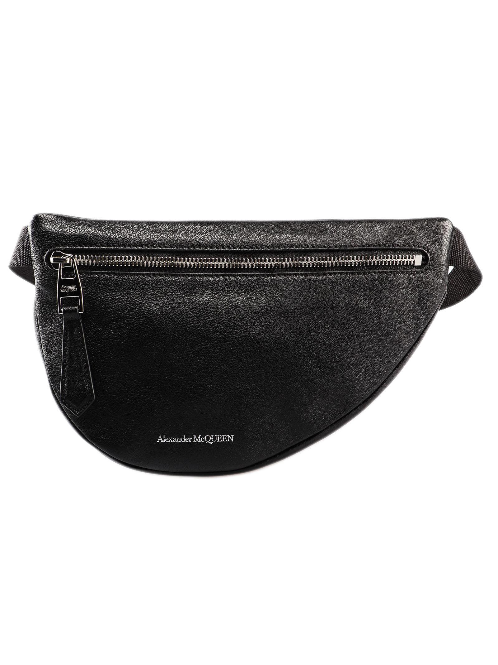 0f3f5e3d Alexander McQueen Alexander McQueen Logo Belt Bag - Black - 10954507 ...