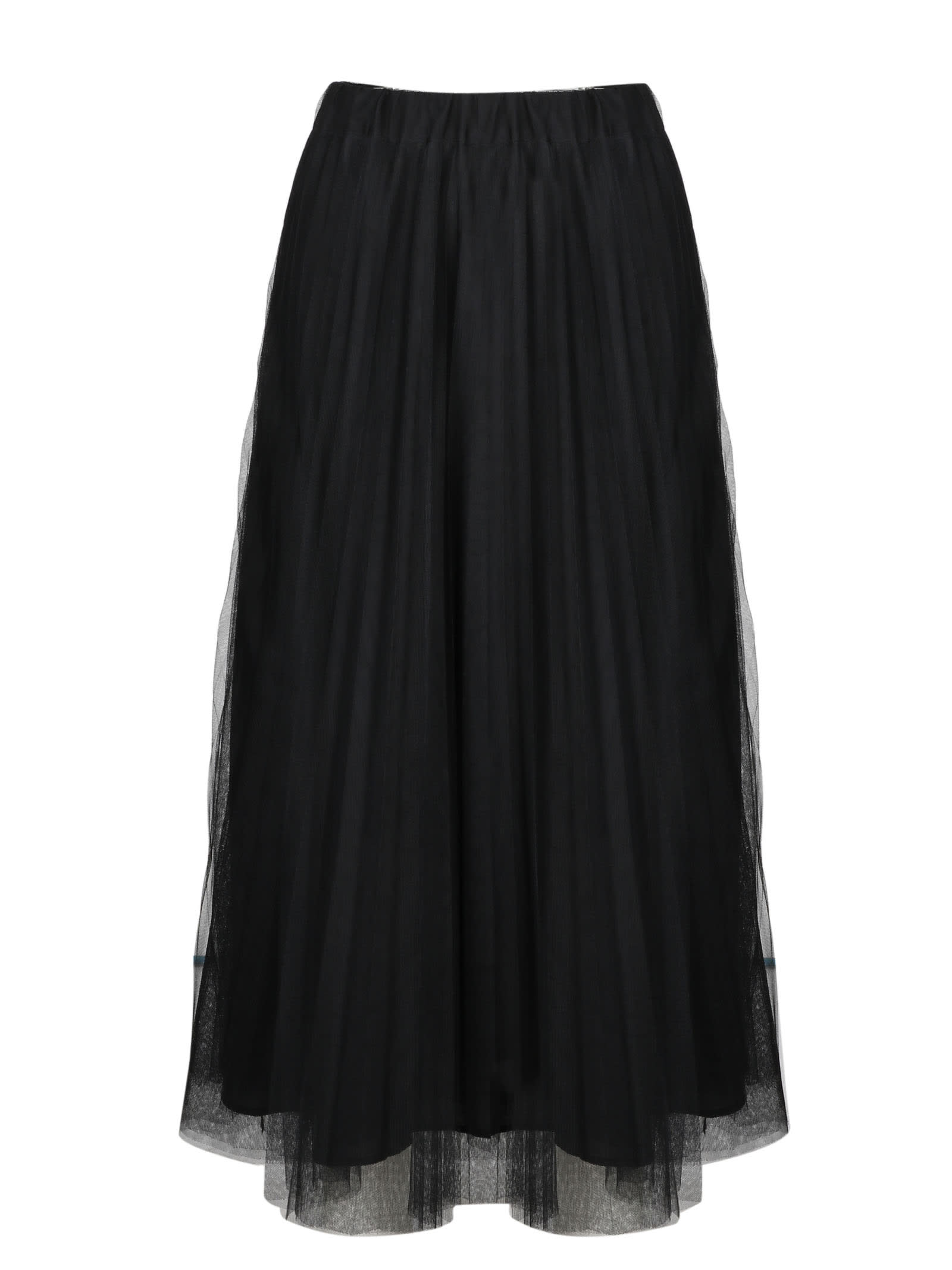 Parosh Parallel Pleated Skirt