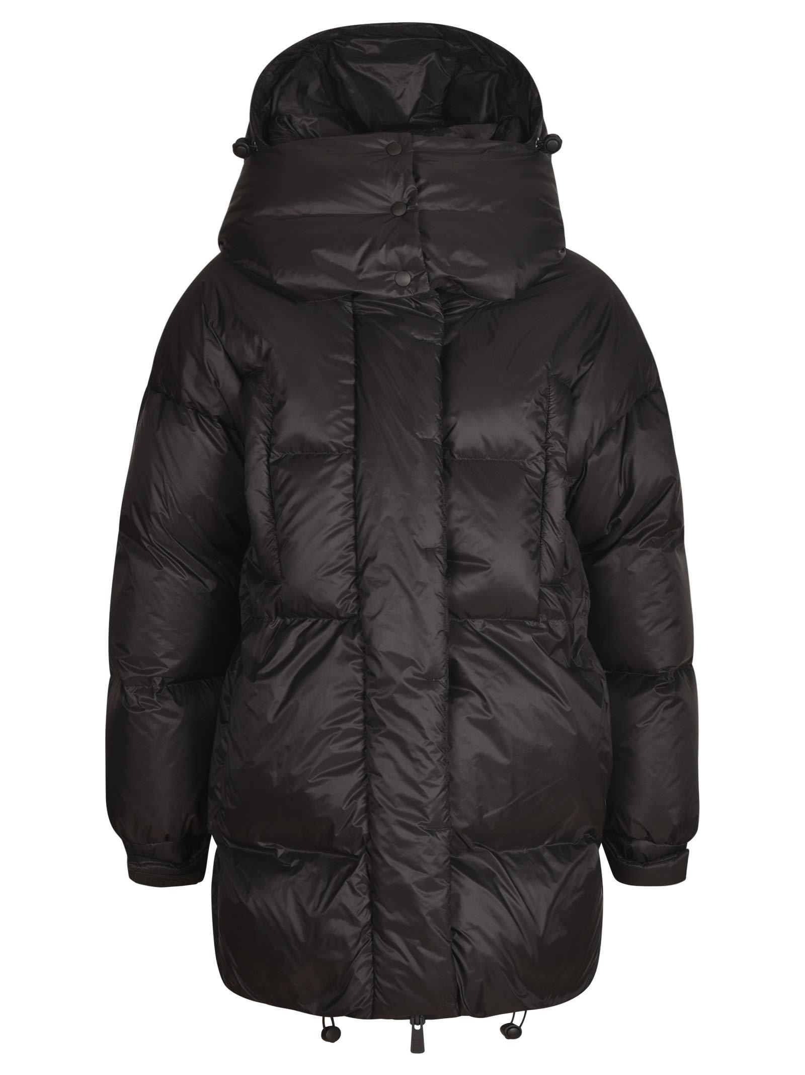 Bacon Superwalt Puffer Jacket In Black