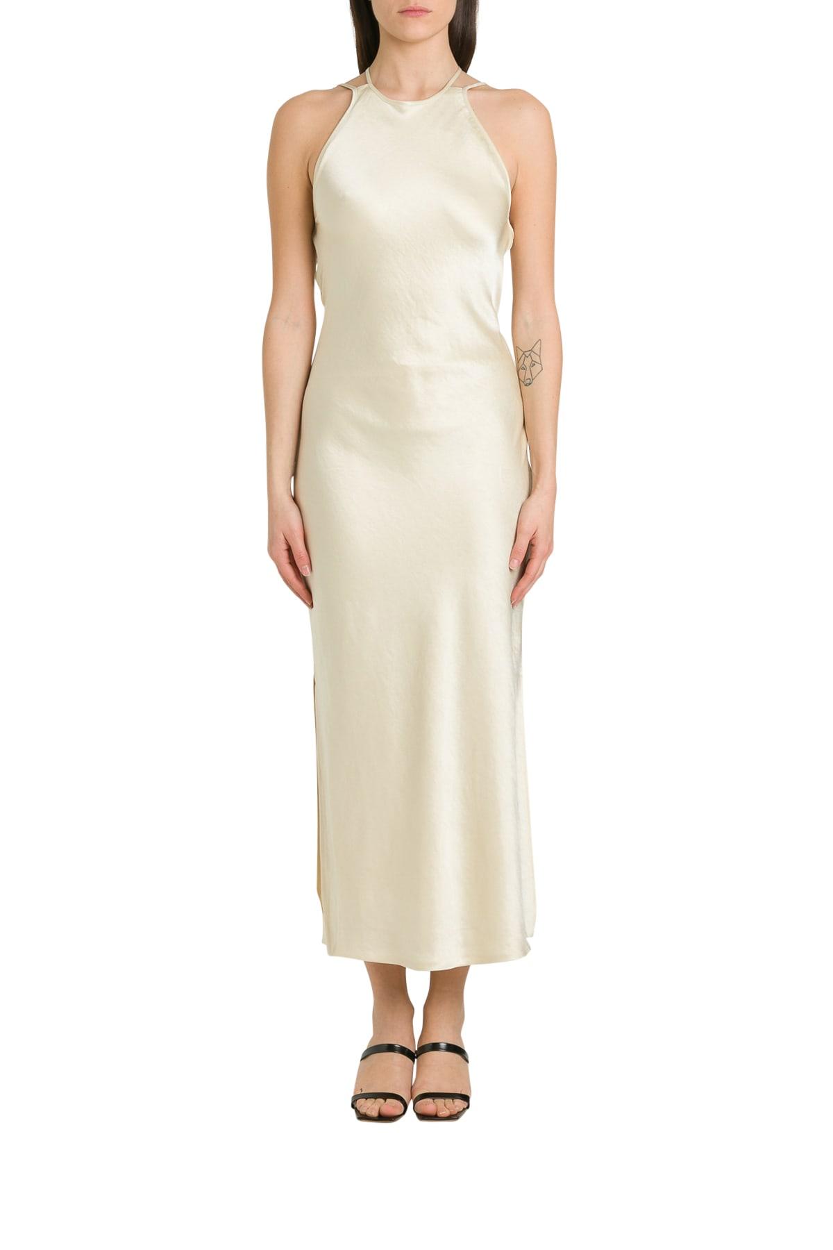 Buy Nanushka Narita Satin Slip Dress online, shop Nanushka with free shipping