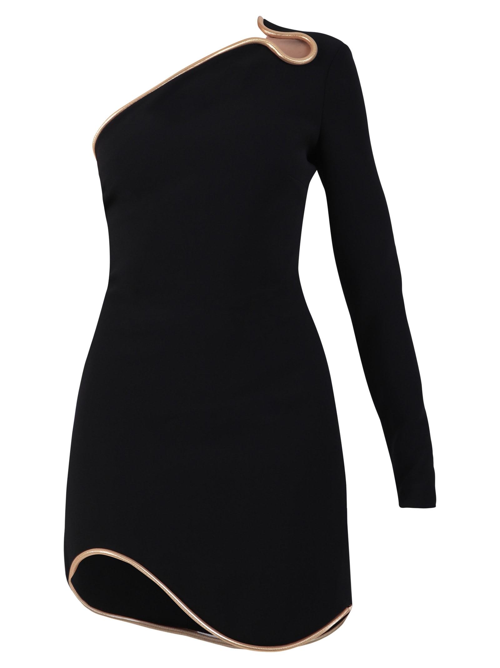 Buy Stella McCartney One-shoulder Cady Dress online, shop Stella McCartney with free shipping