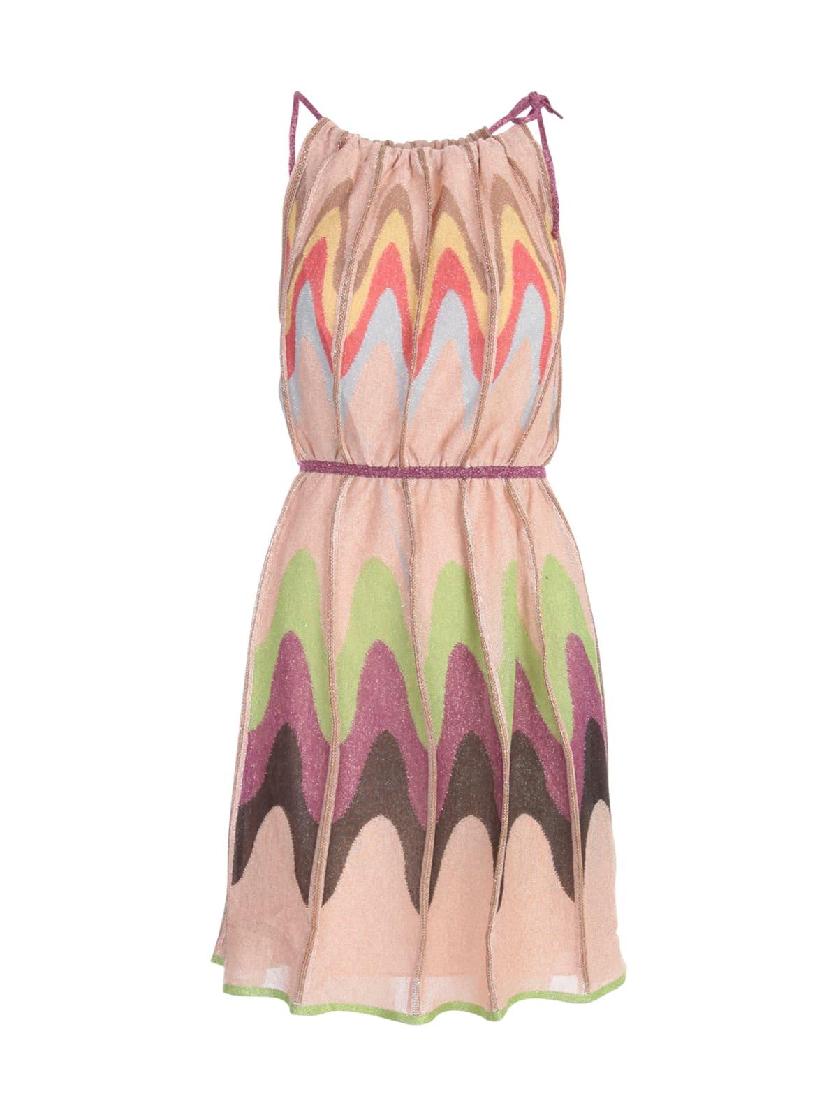 Buy M Missoni Thin Strap Mini Dress online, shop M Missoni with free shipping