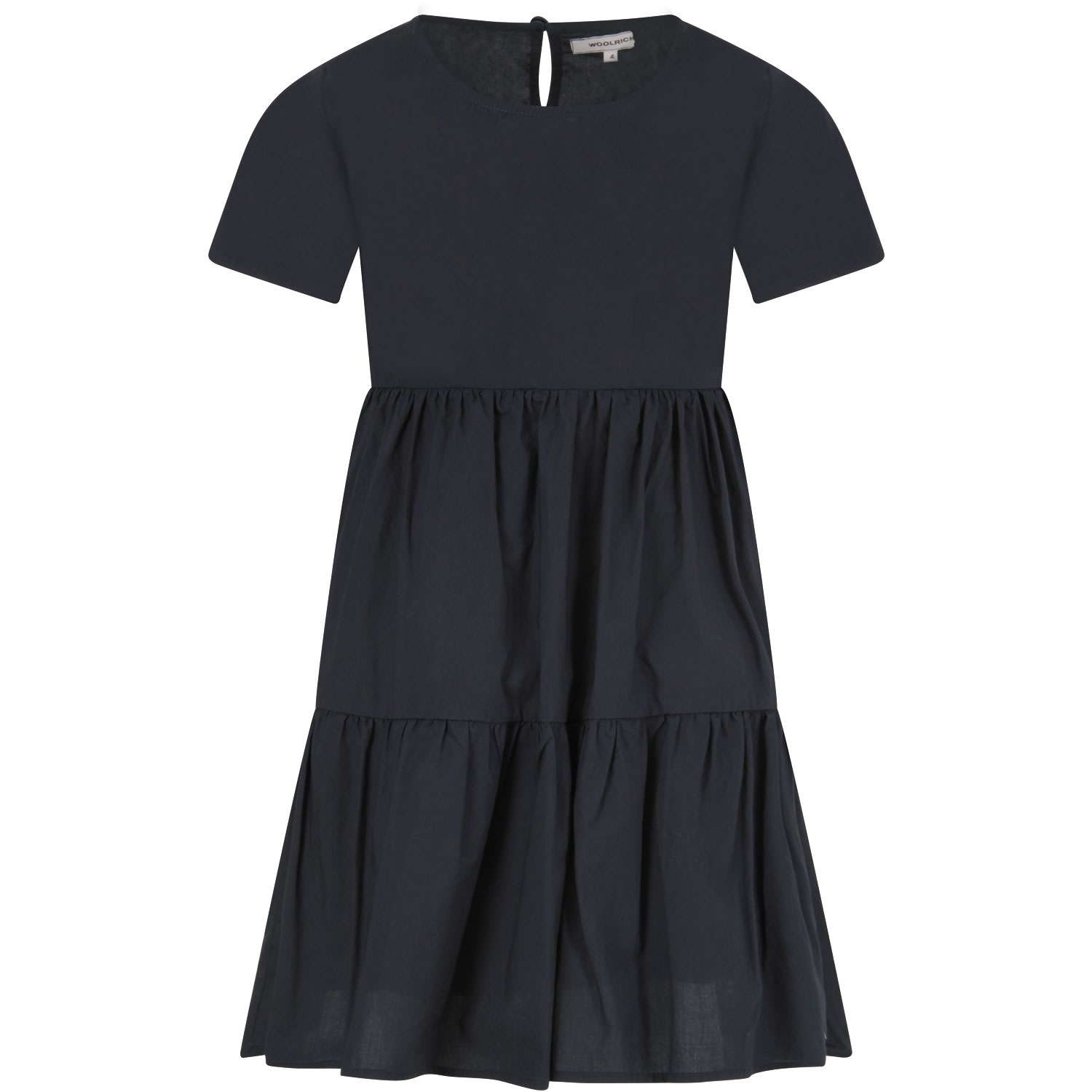 Buy Woolrich Blue Girl Dress online, shop Woolrich with free shipping