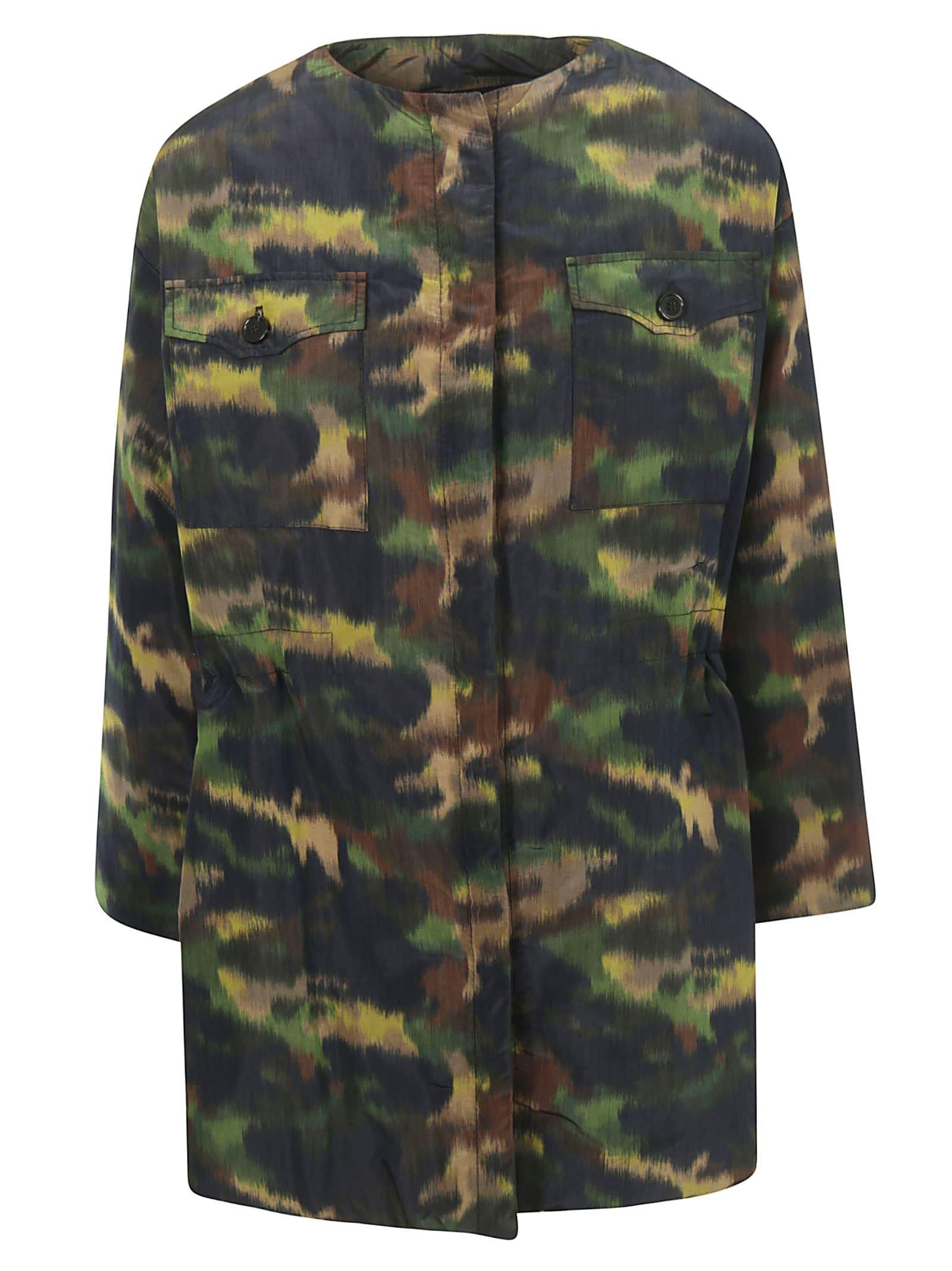 Photo of  Rochas Camouflage Coat- shop Rochas jackets online sales