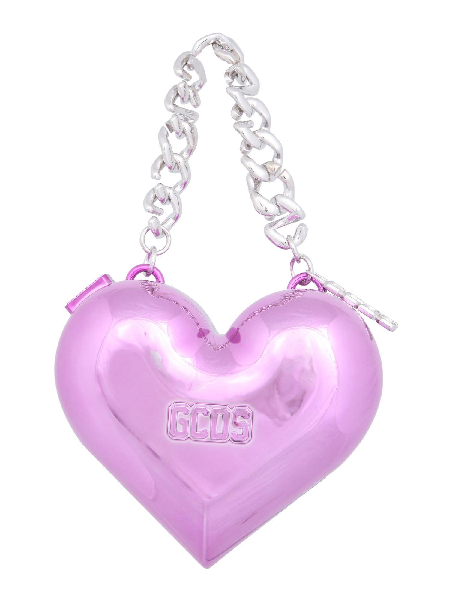 Gcds Clutches HEART BAG