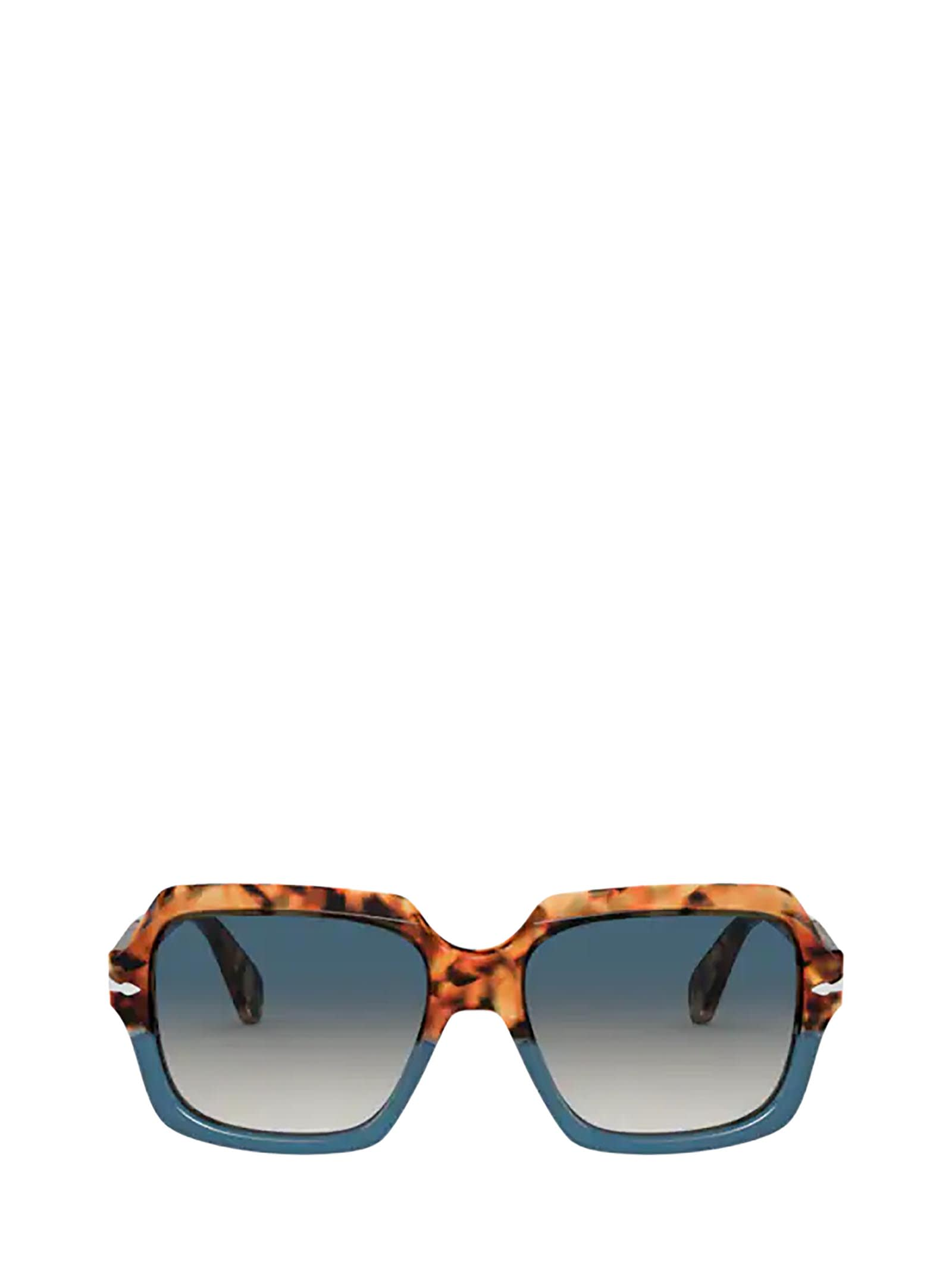 Persol PO0581S YELLOW TORTOISE/BLUE TOP SUNGLASSES