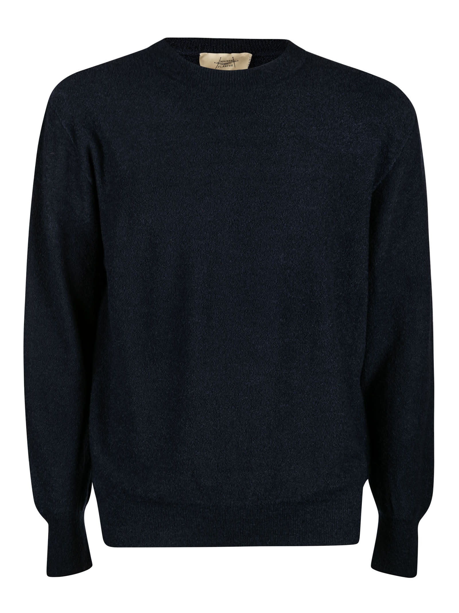 Plain Ribbed Sweater