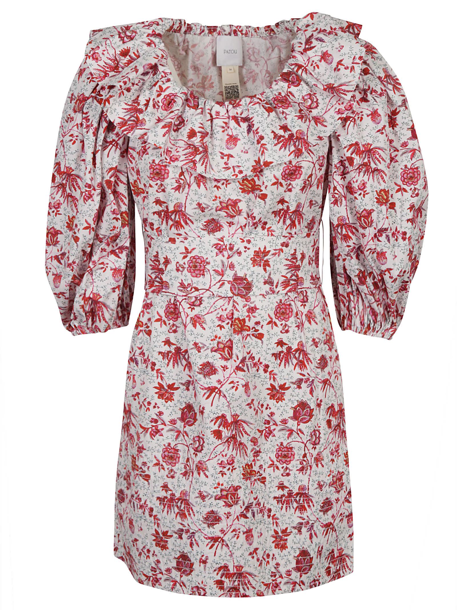 Patou Dresses VOLUME SLEEVES MINI DRESS