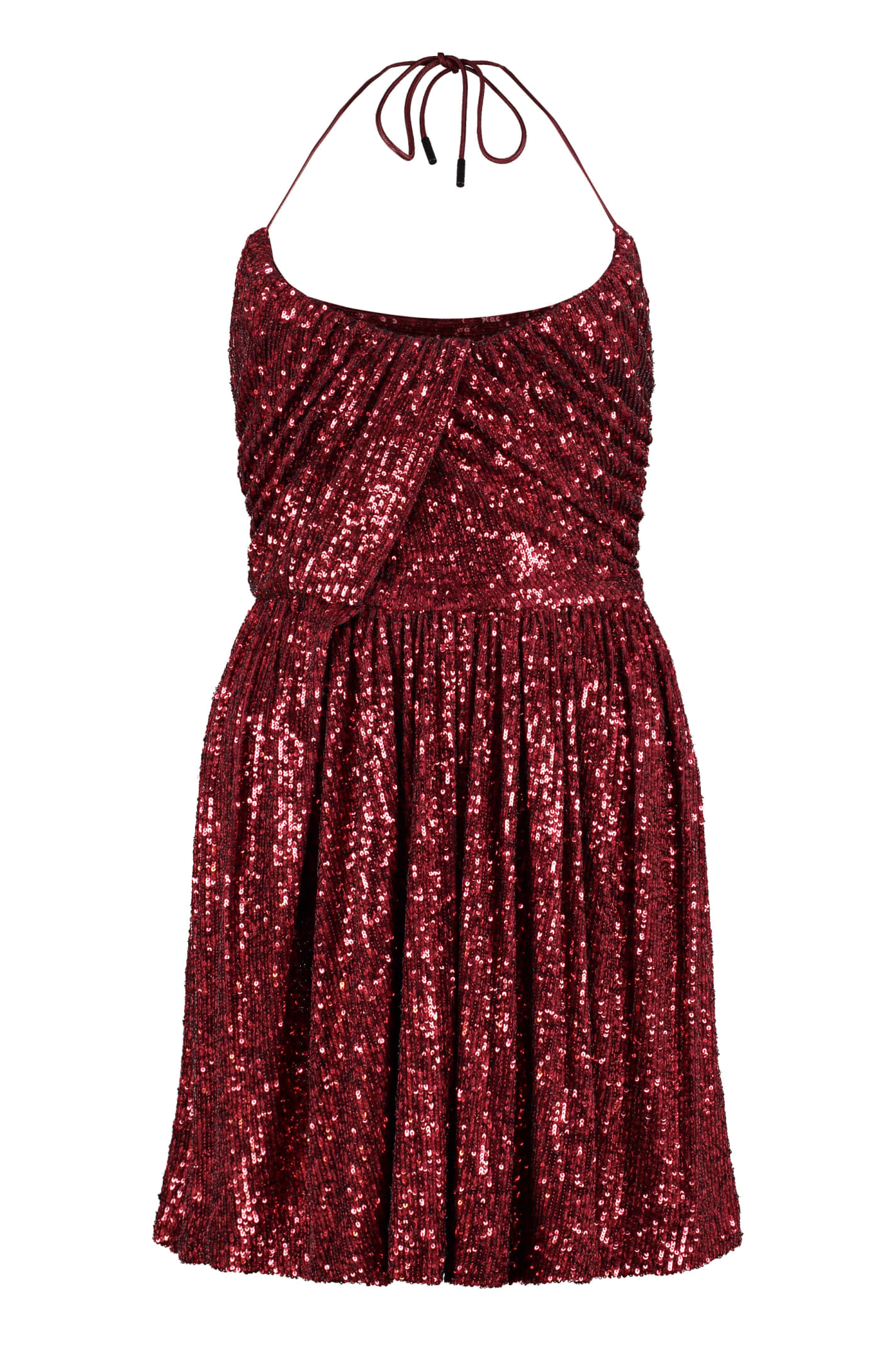 Saint Laurent Sequined Mini-dress