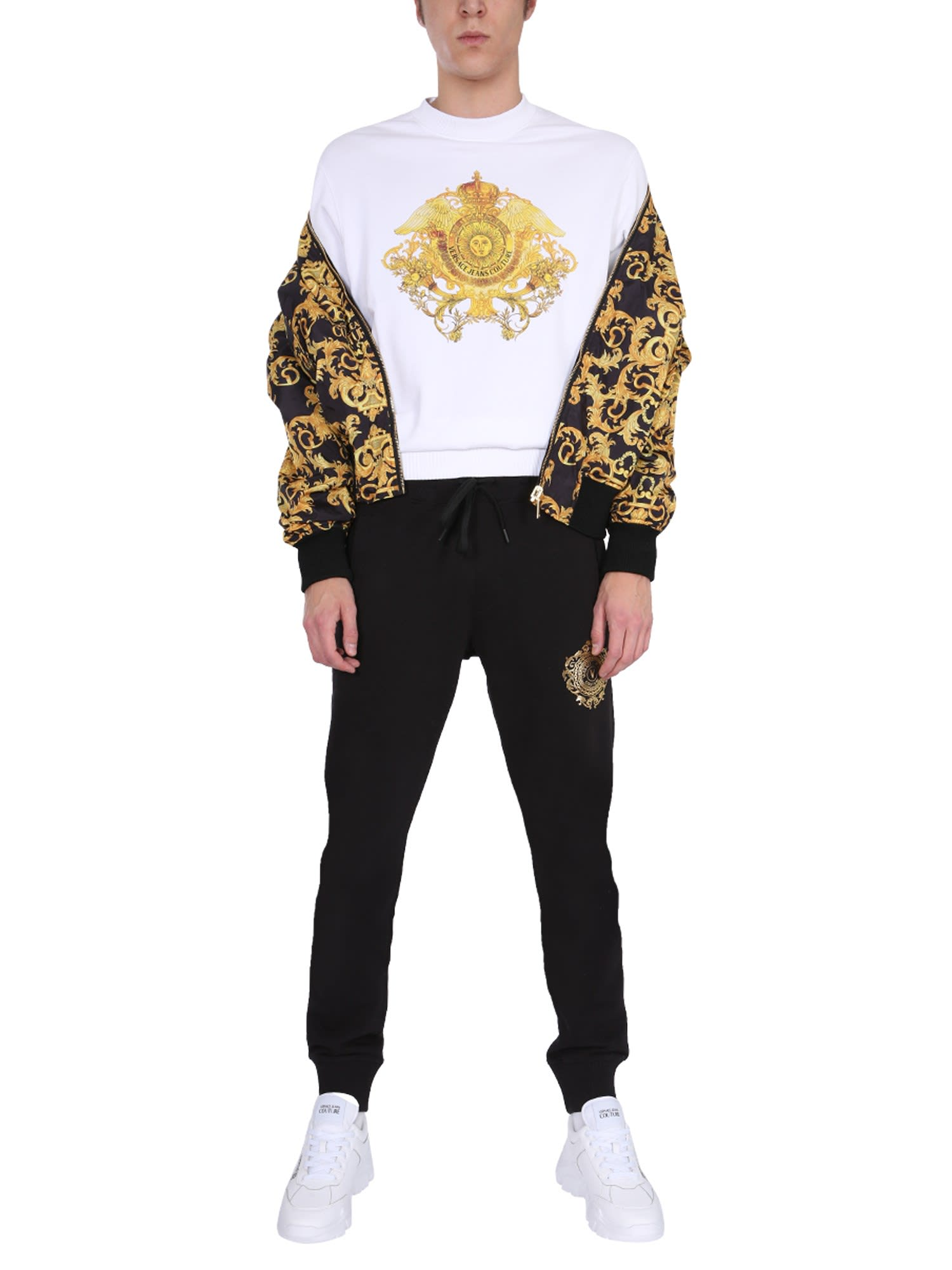 Versace Jeans Couture Bomber jackets REVERSIBLE PRINTED BOMBER
