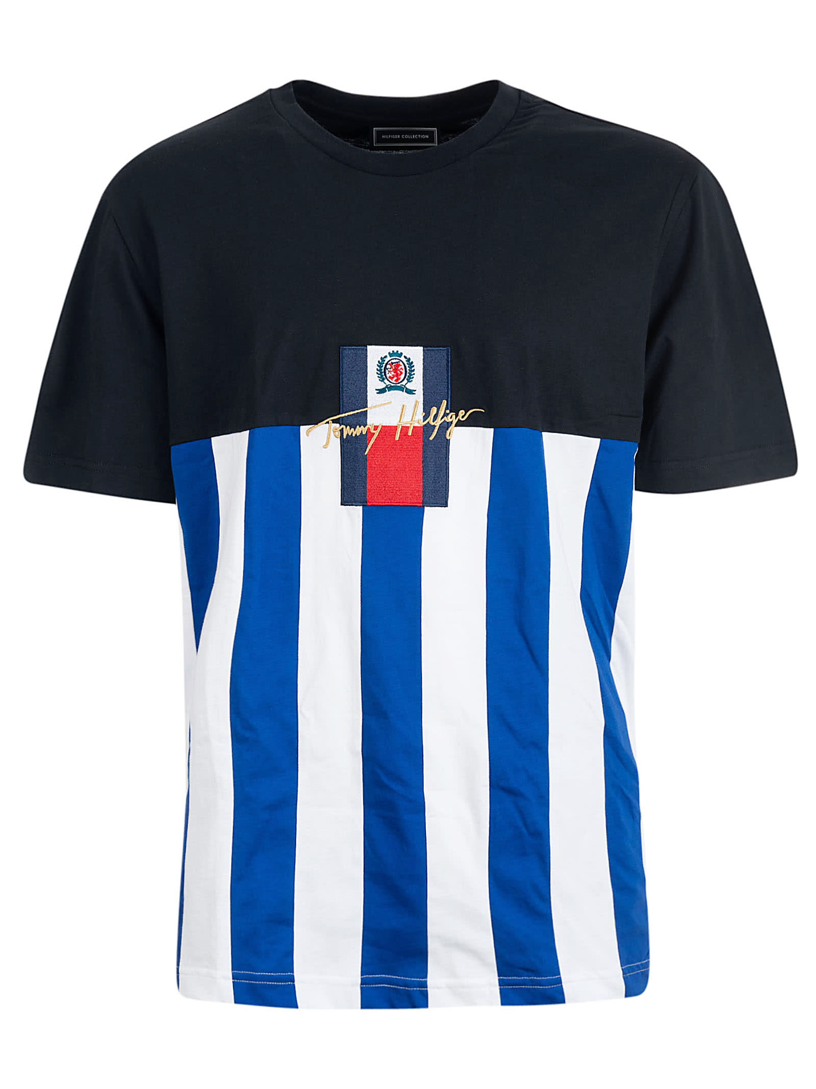 Best price on the market at italist | Tommy Hilfiger Tommy Hilfiger Logo Embroidered T shirt