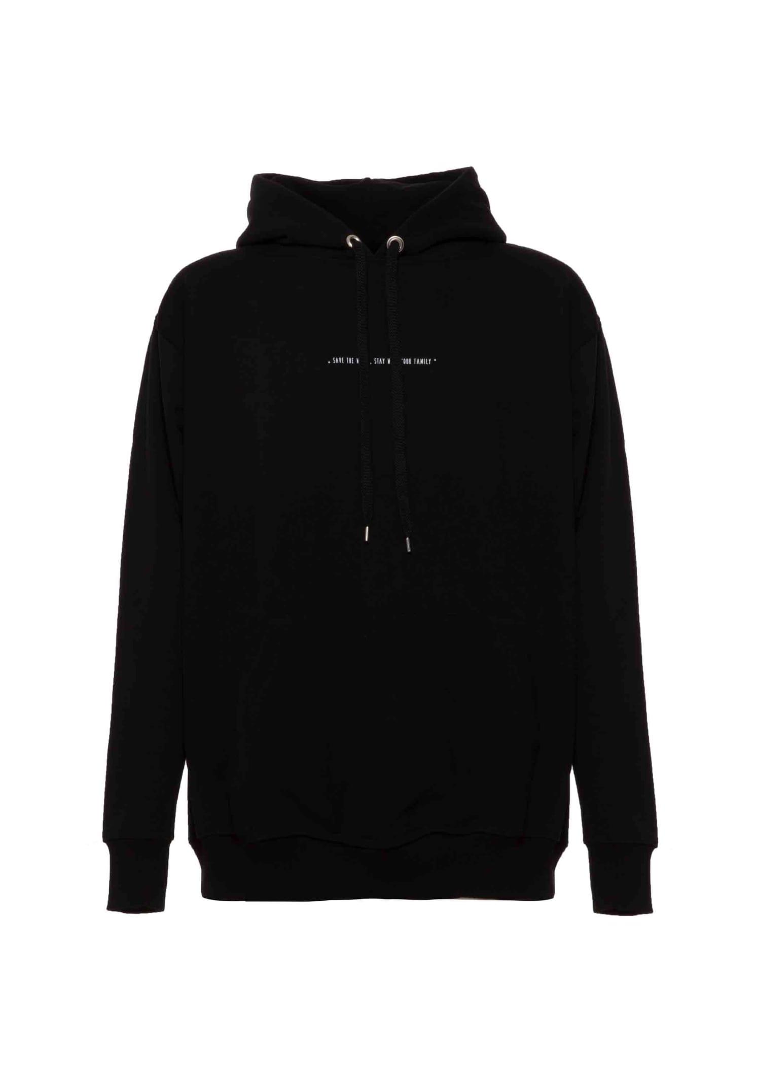 Hoodie Iconic Black