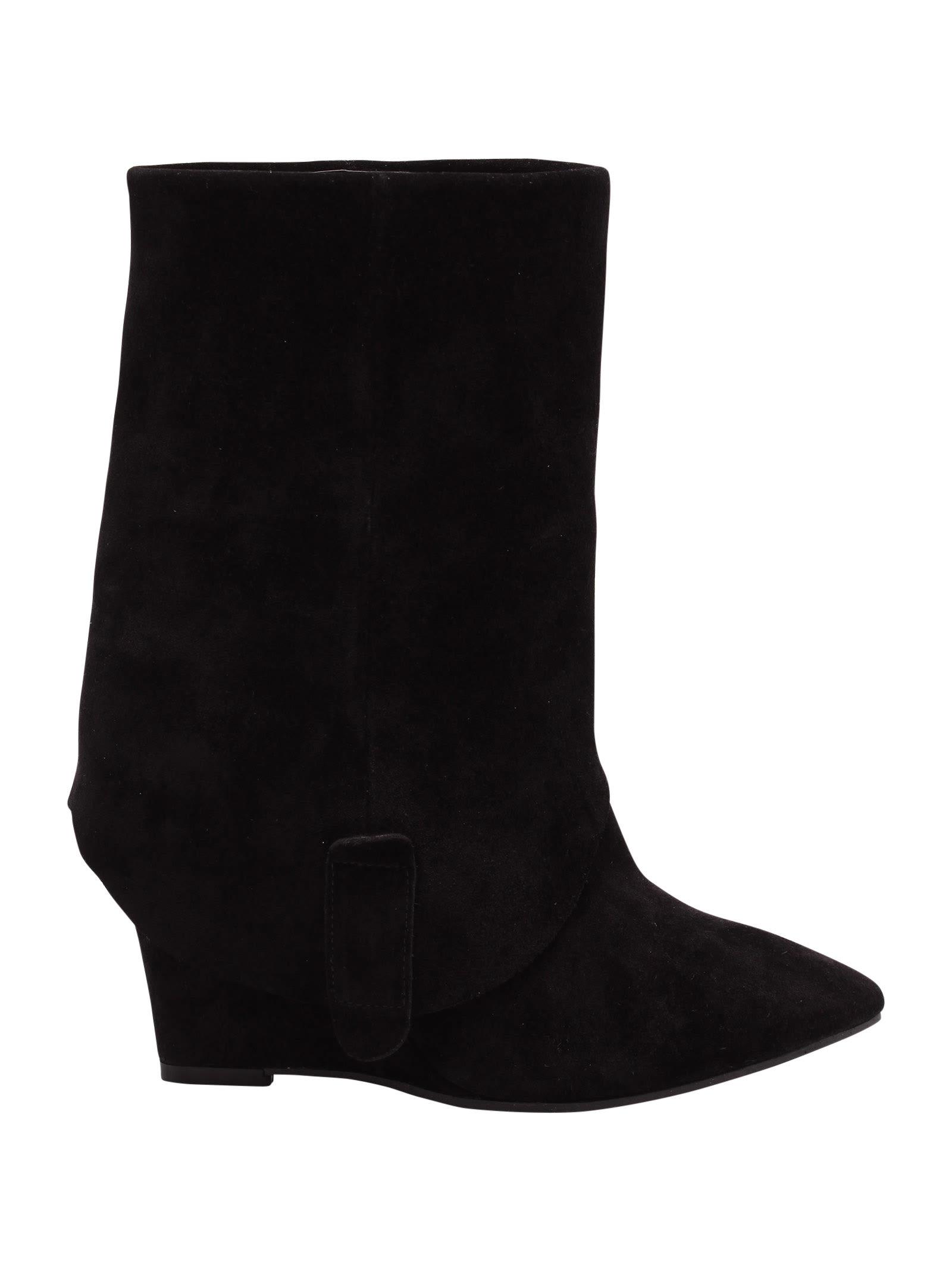 maga Leather Boots