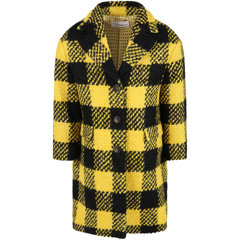 Multicolor Coat For Girl