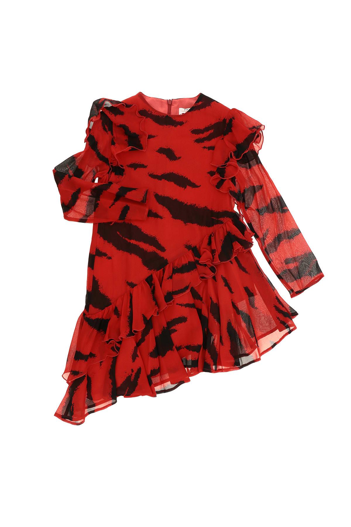 Buy Philosophy di Lorenzo Serafini Kids Tiger Dress online, shop Philosophy di Lorenzo Serafini Kids with free shipping