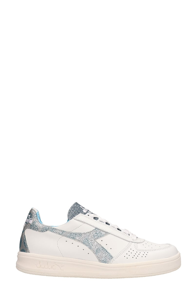 08fd4b1f Diadora White Leather Sneakers