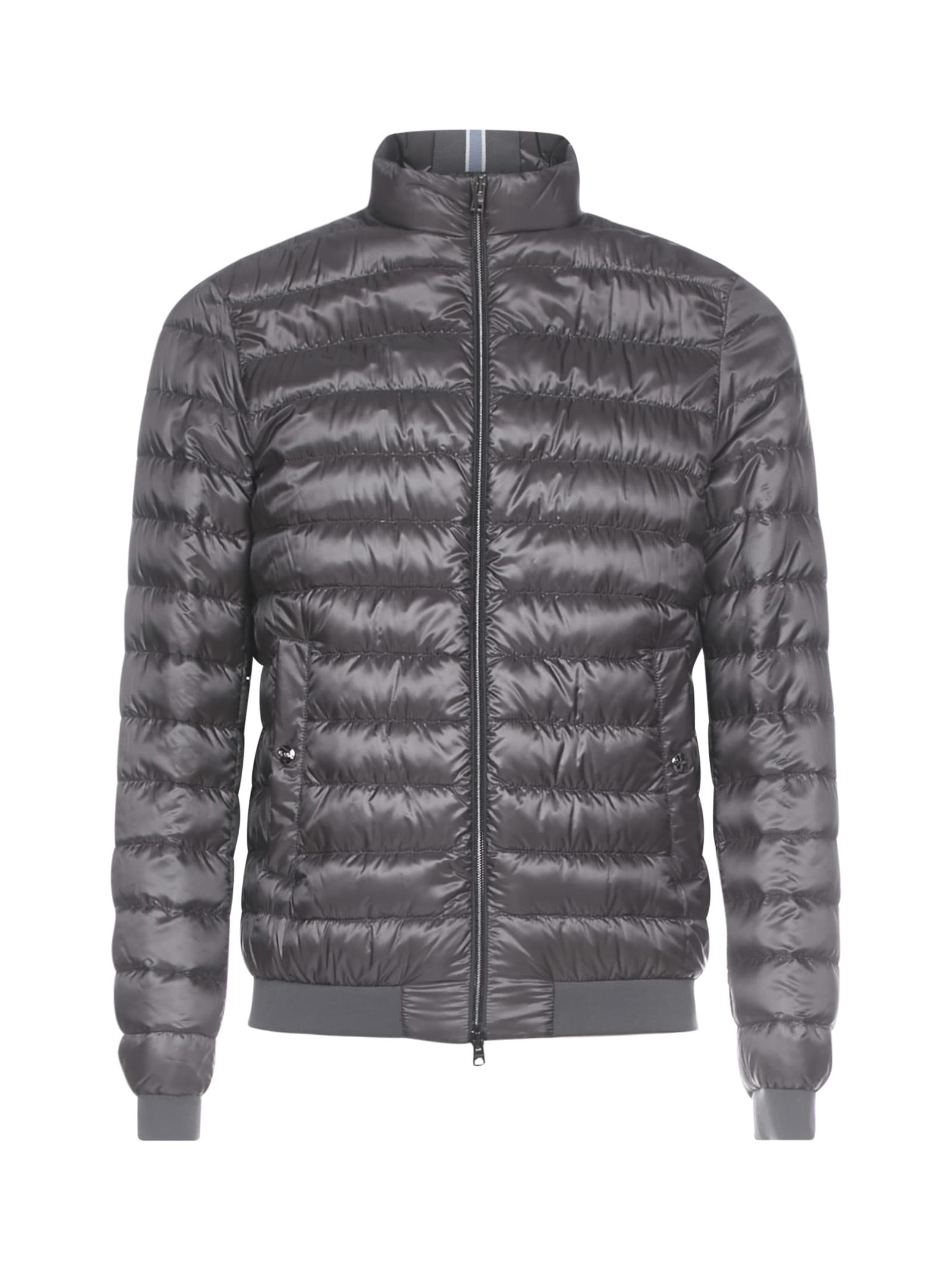 Herno Quilted Nylon Short Down Jacket