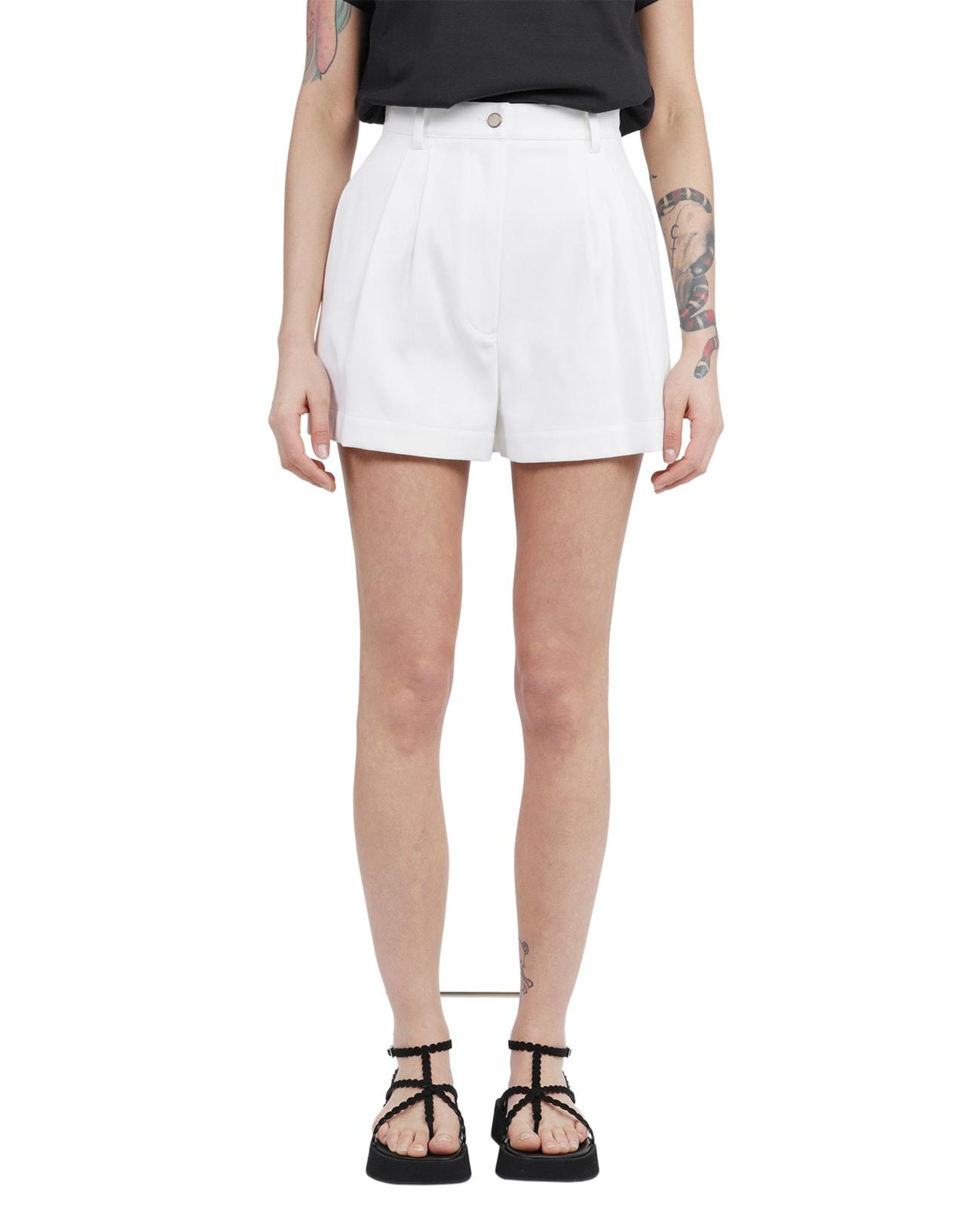 Alaïa Cottons WHITE SHORTS