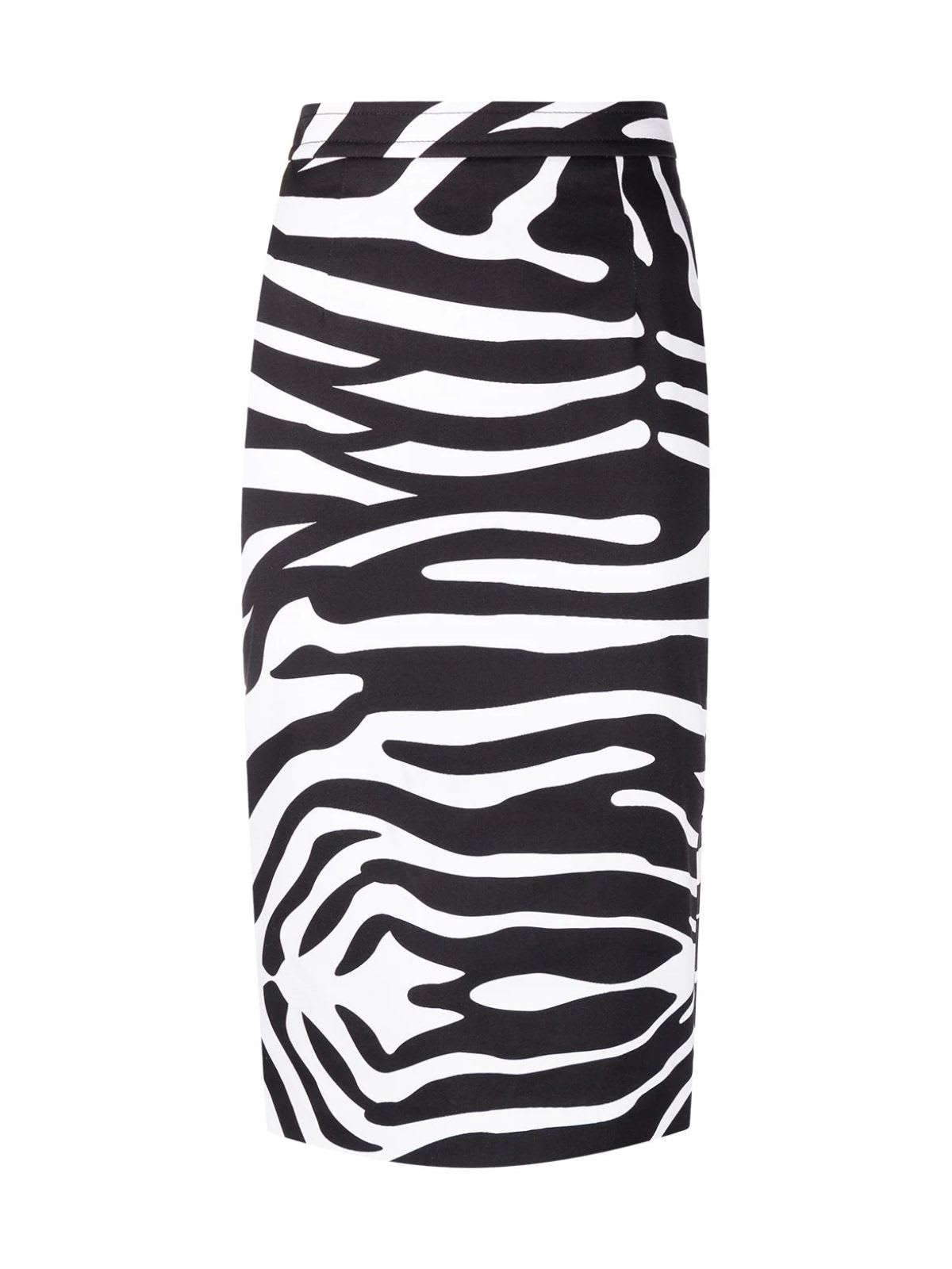 Dsquared2 COTTON HIGH WAISTED PENCIL SKIRT