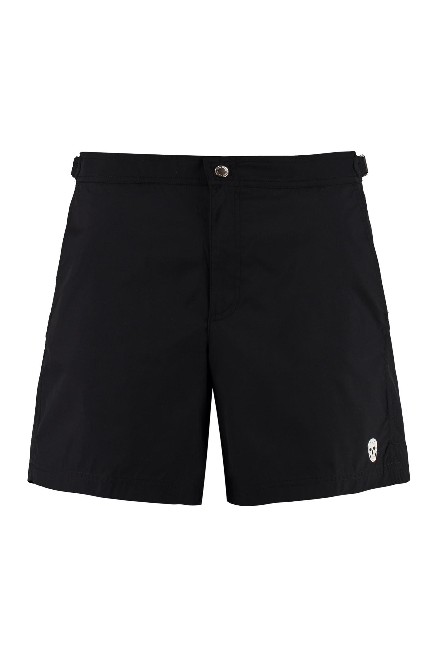 Alexander McQueen Nylon Swim Shorts