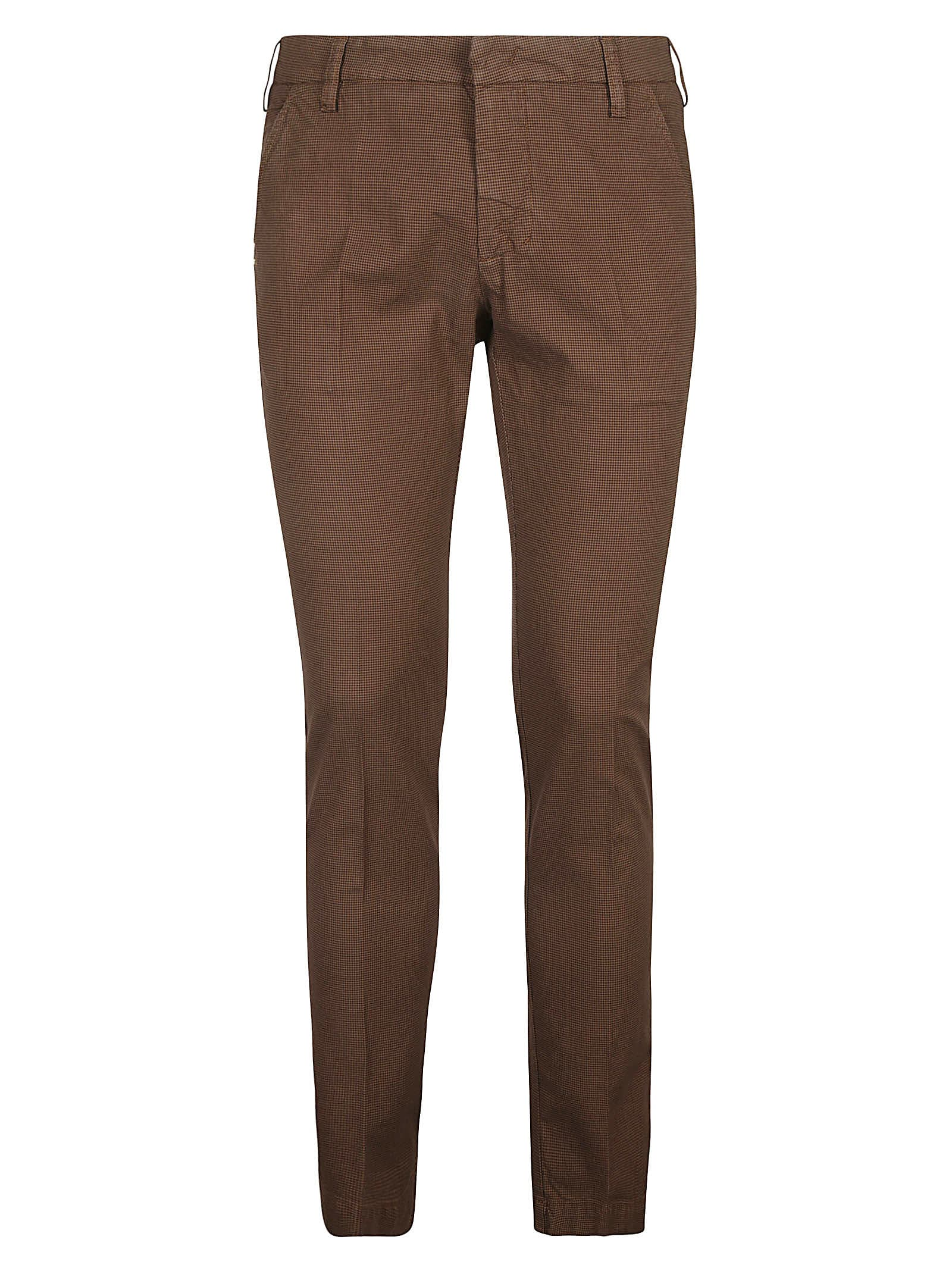 Slim-fit Printed Trousers