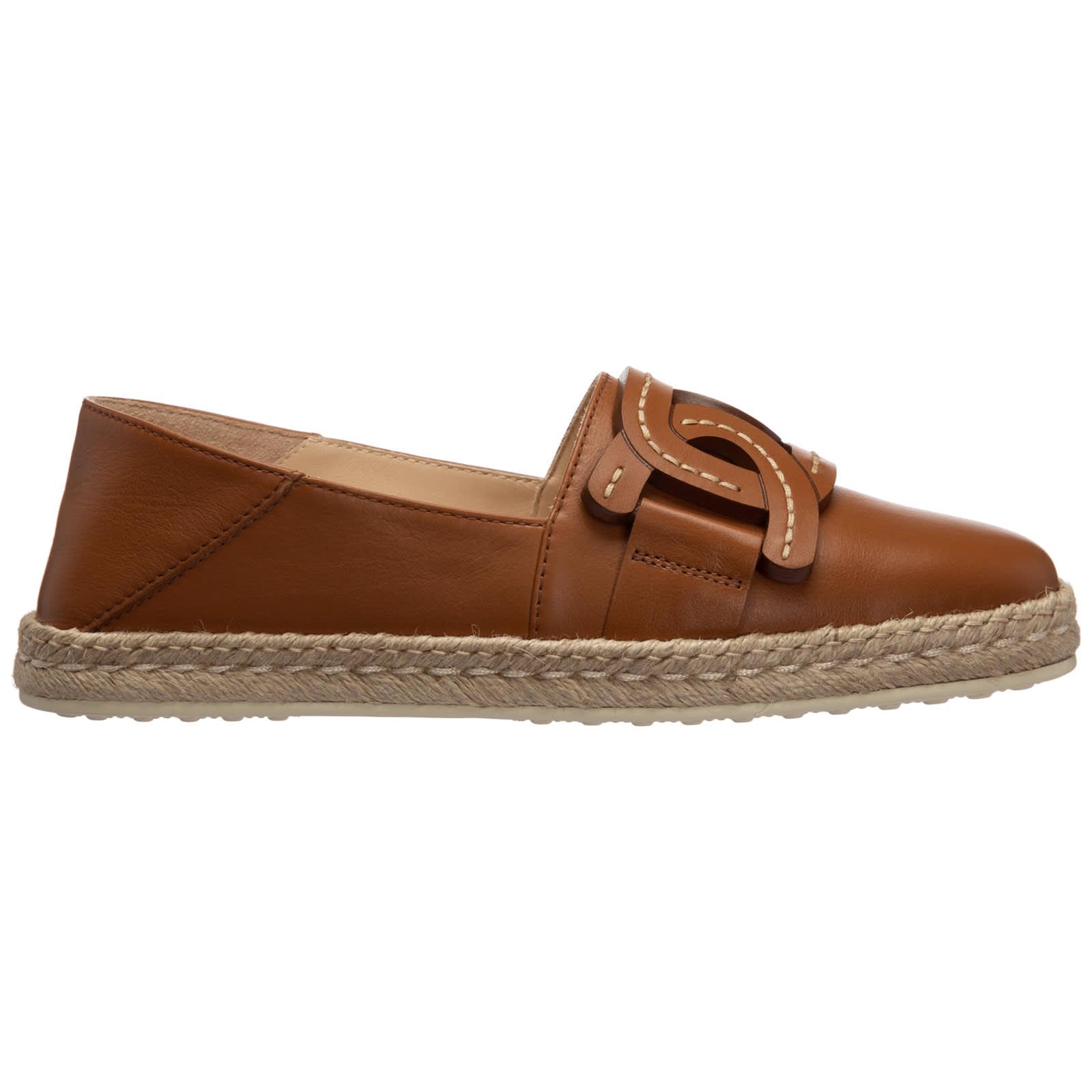 Tod's Shoes V-12 ESPADRILLES