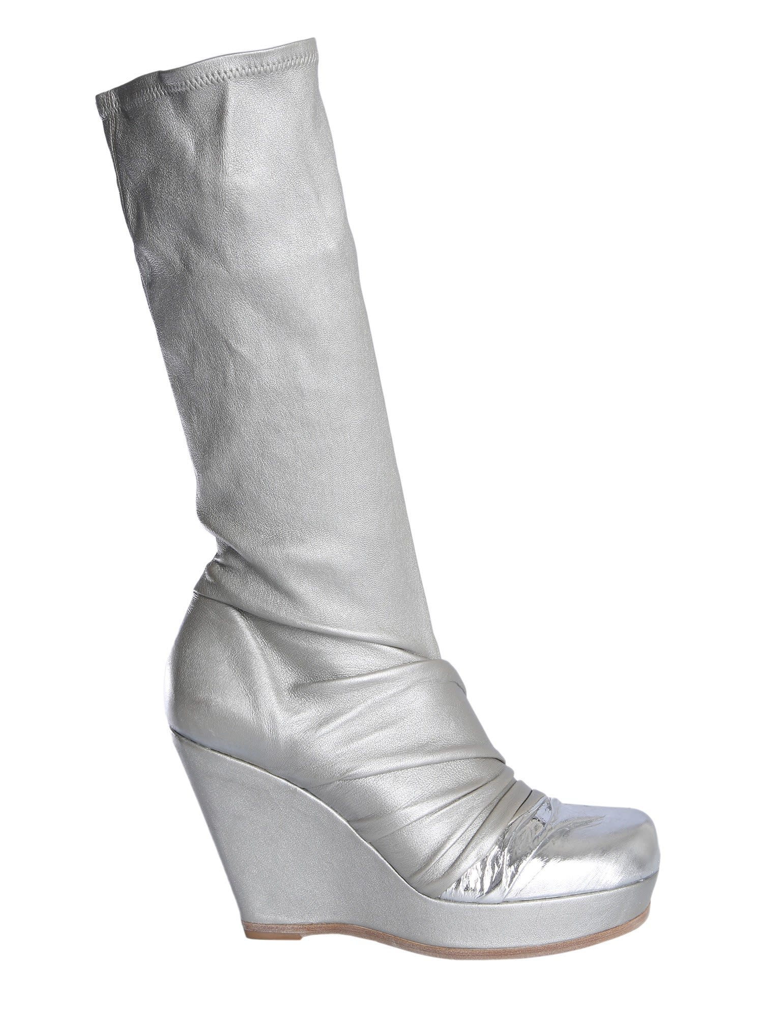 Buy Rick Owens Draped Boots online, shop Rick Owens shoes with free shipping