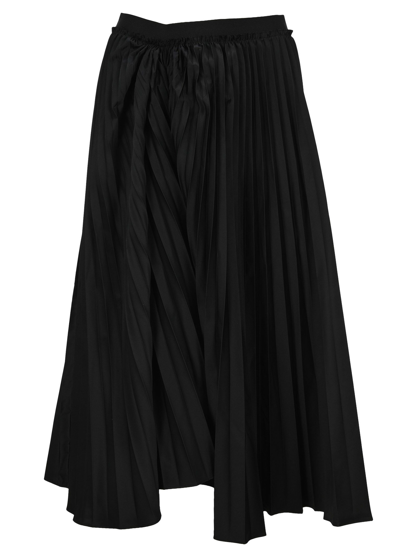Marni PLEATED TECHNICAL COTTON SKIRT