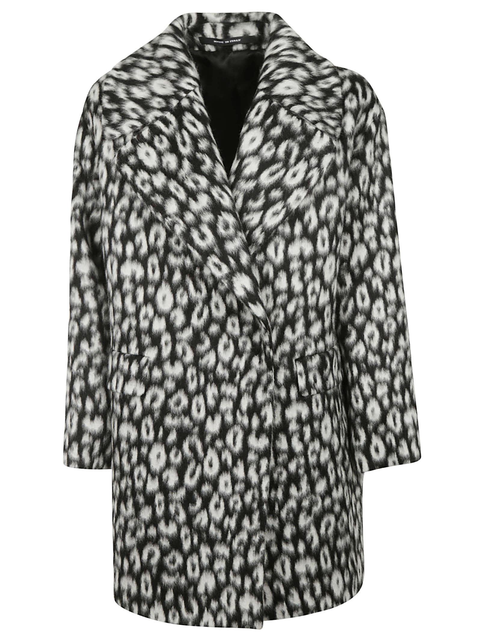 Tagliatore Printed Coat