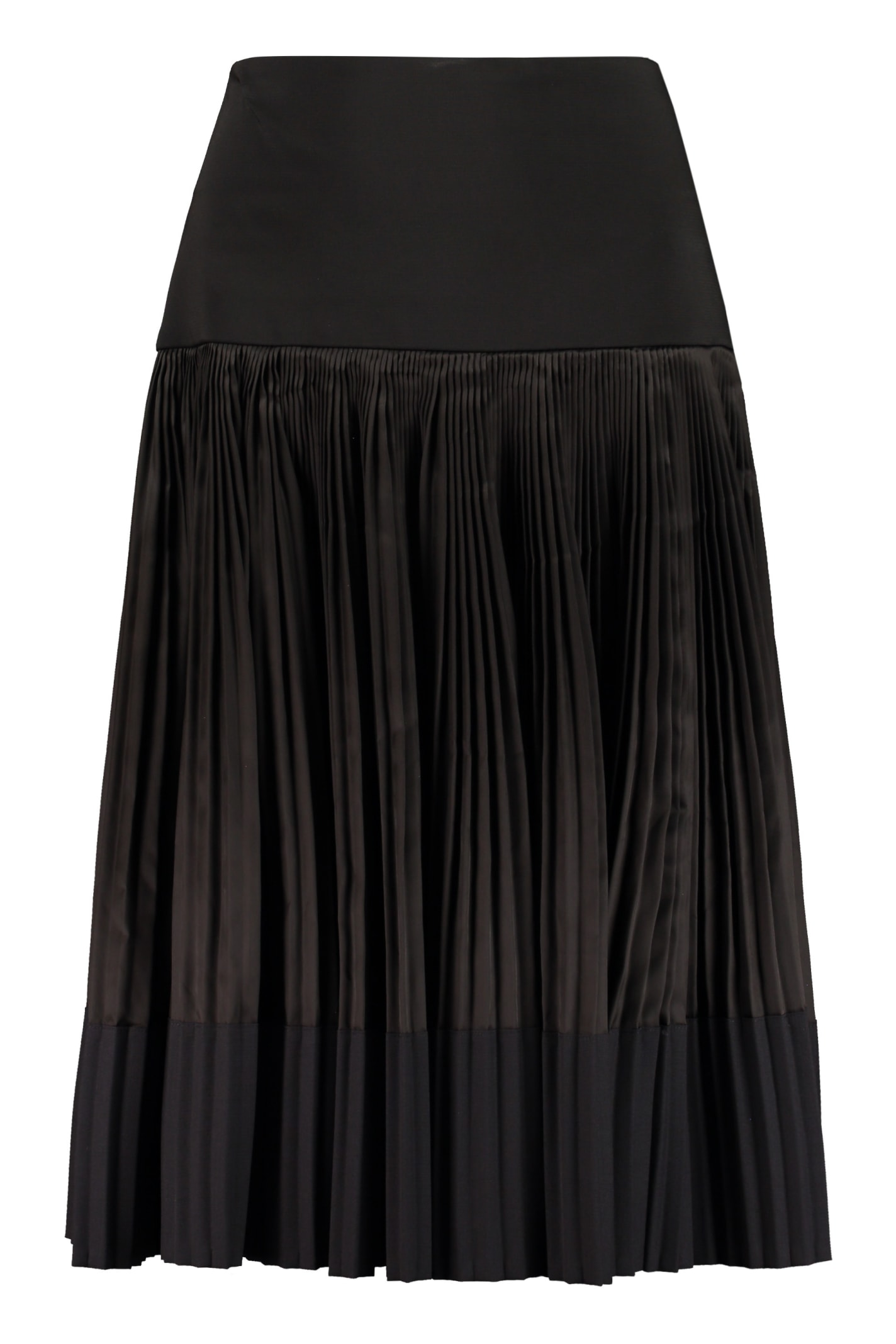 Plan C PLEATED SKIRT