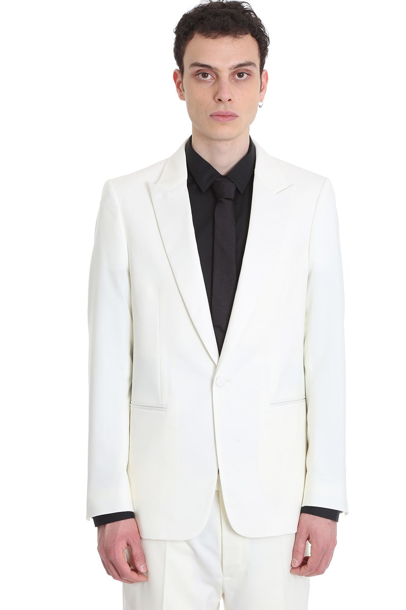 Mauro Grifoni Dress In White Wool