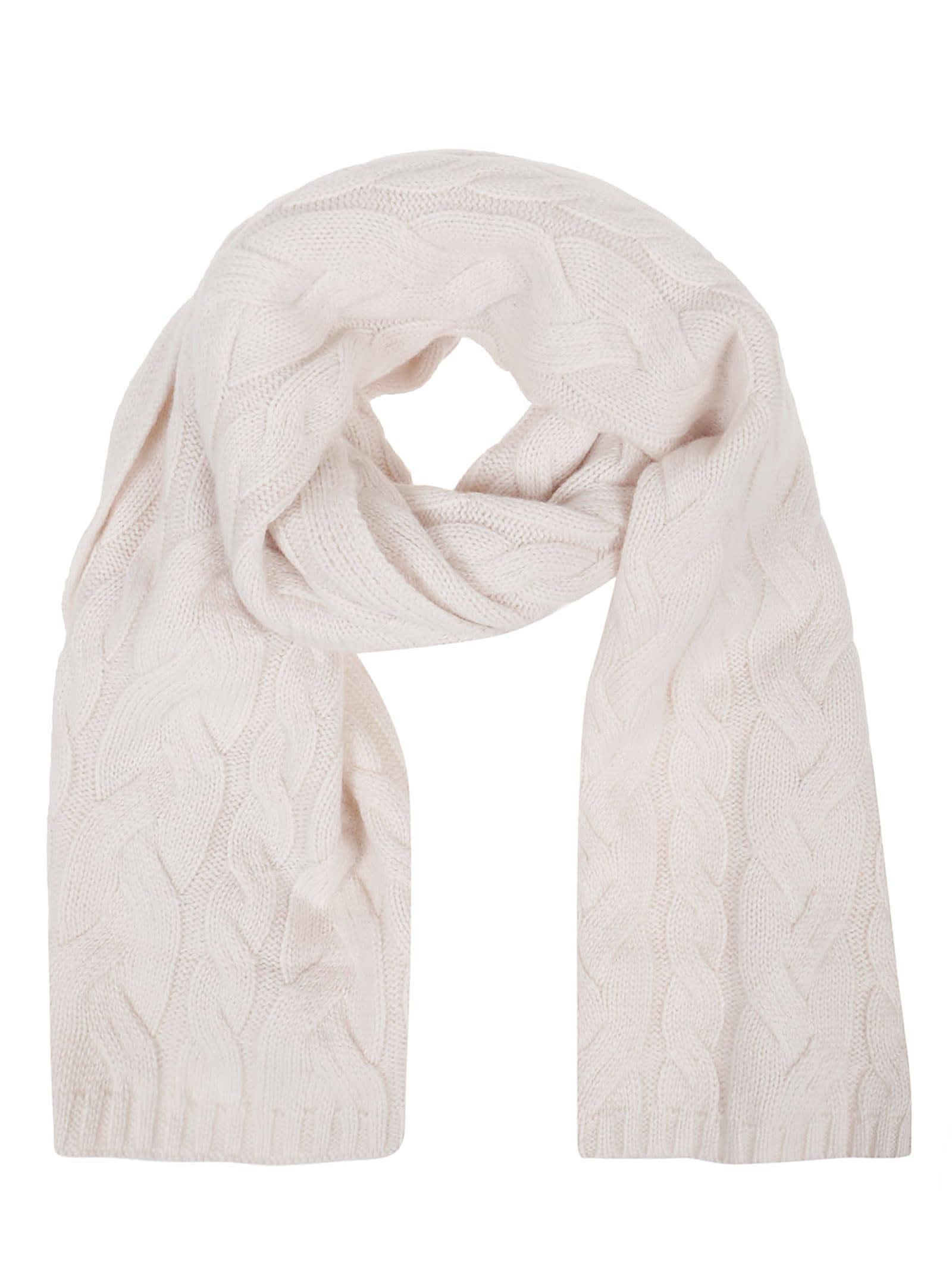 White Wool Scarf