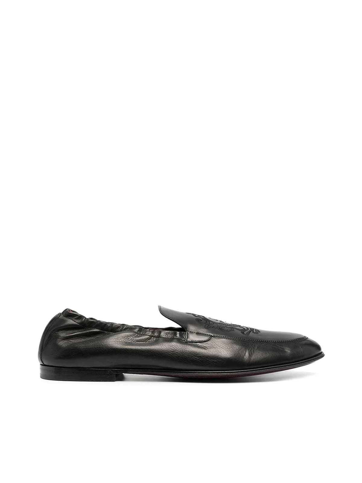 Dolce & Gabbana Loafers PLUME EMBROIDERED