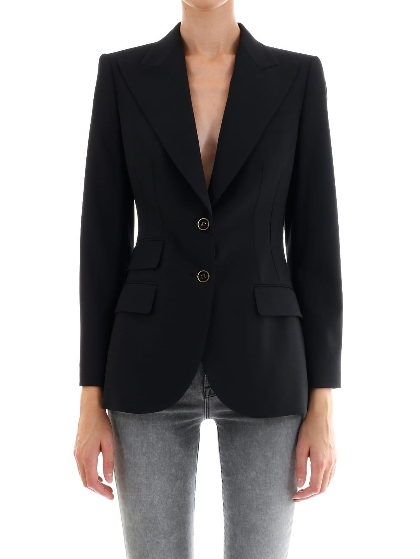 Dolce & Gabbana Stretch Wool Jacket
