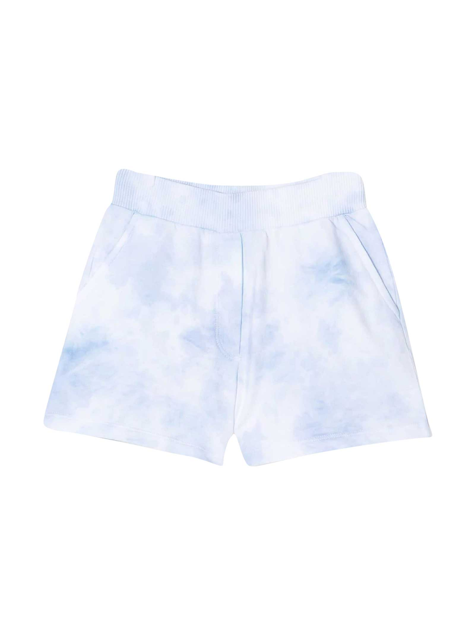 Ttie Dye Print Shorts