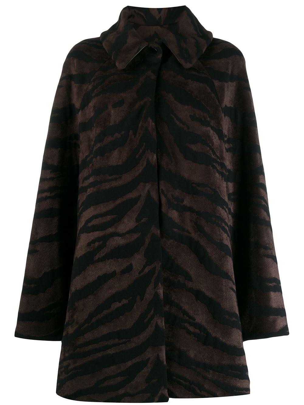Alaia Coat Zebre