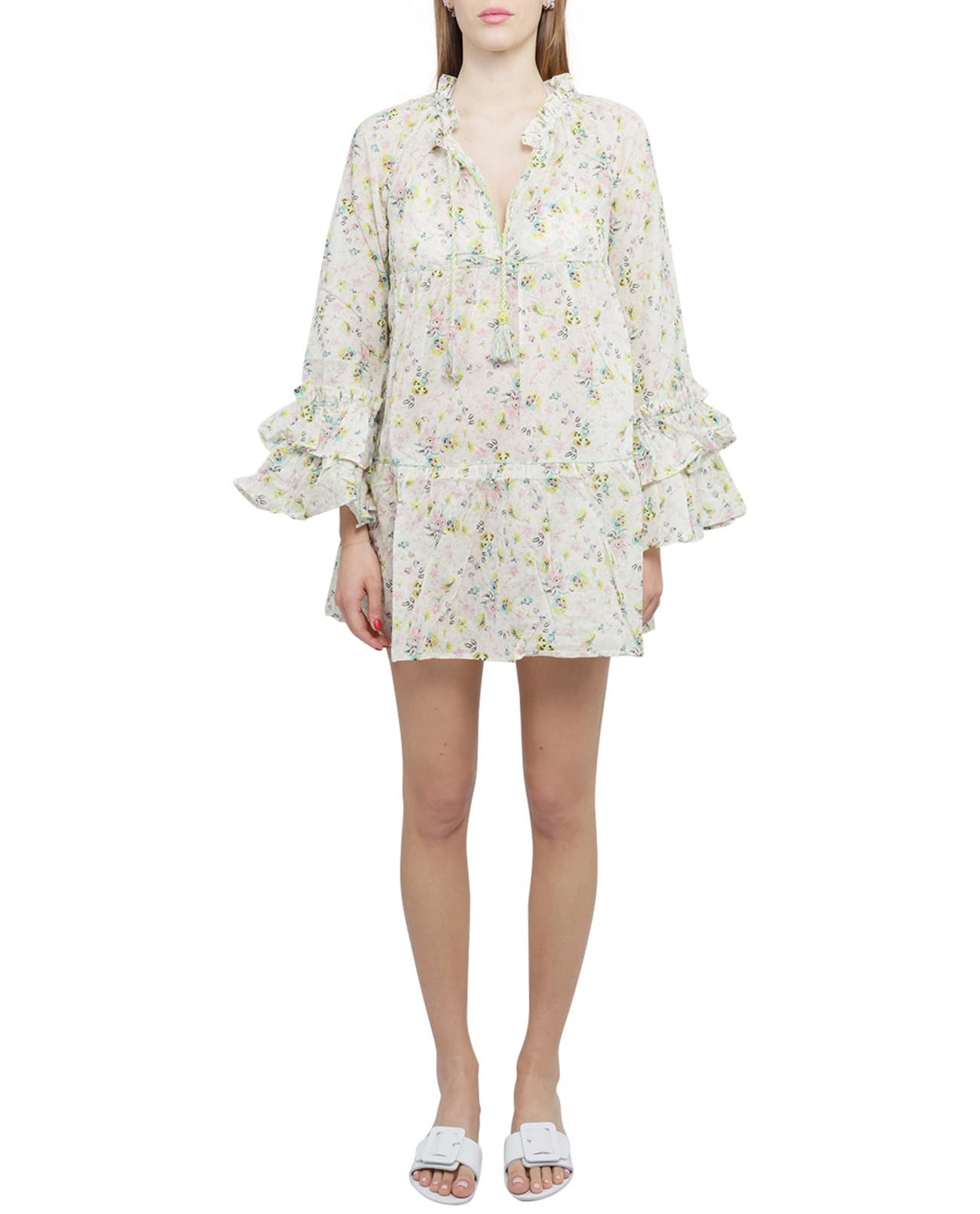 Buy Anjuna Printed Lara Dress online, shop Anjuna with free shipping
