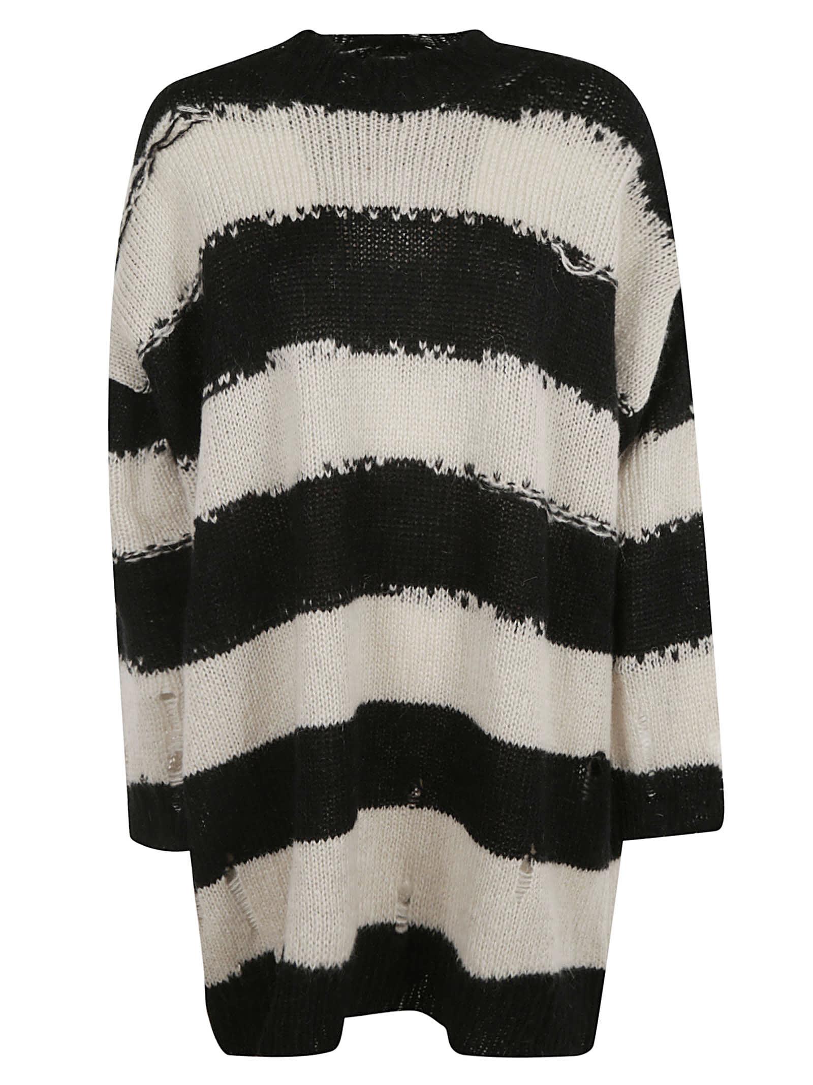 Acne Studios Stripe Knit Dress