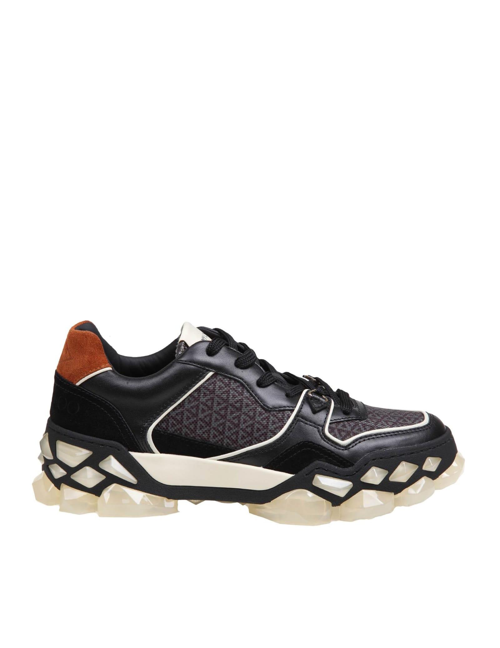 Jimmy Choo Diamond X Trainer / F. Sneakers