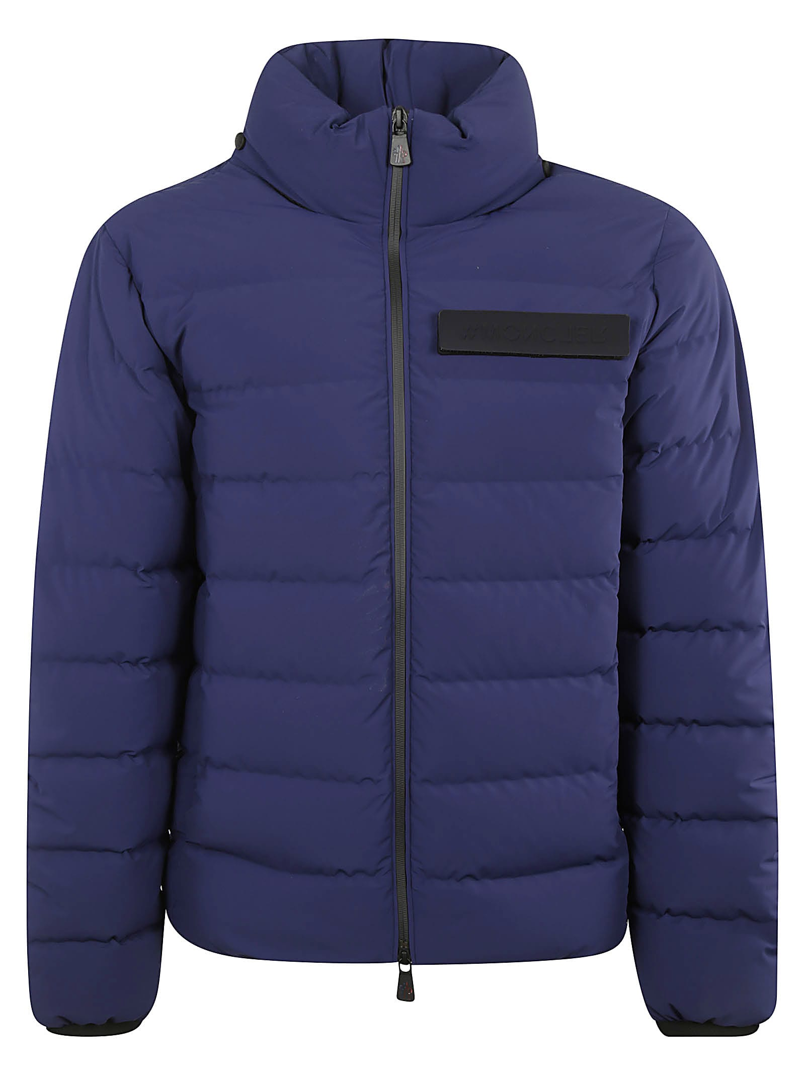 Moncler Grenoble Logo Chest Patch Padded Jacket
