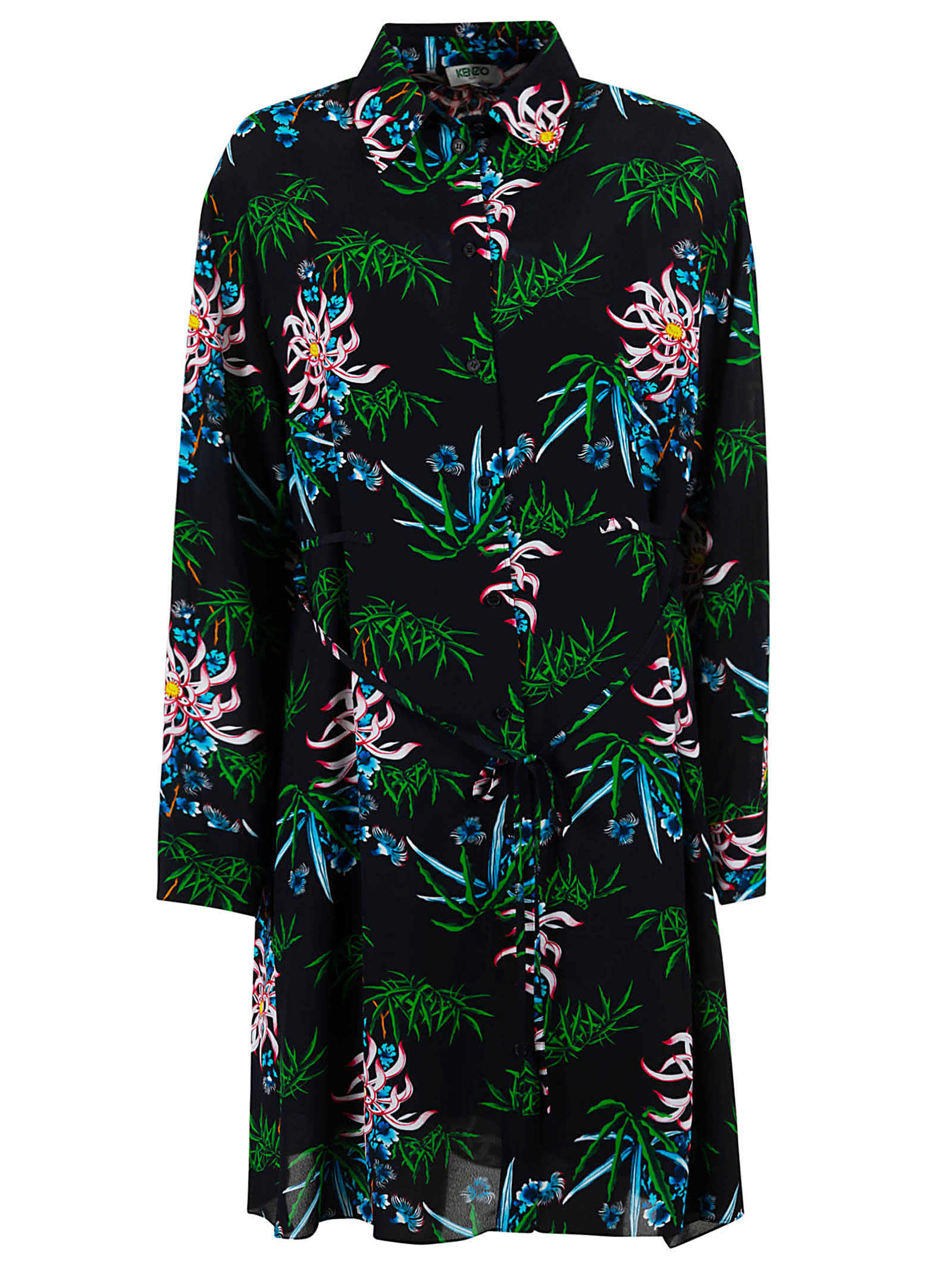 Buy Kenzo Feminine Shirting Dress online, shop Kenzo with free shipping
