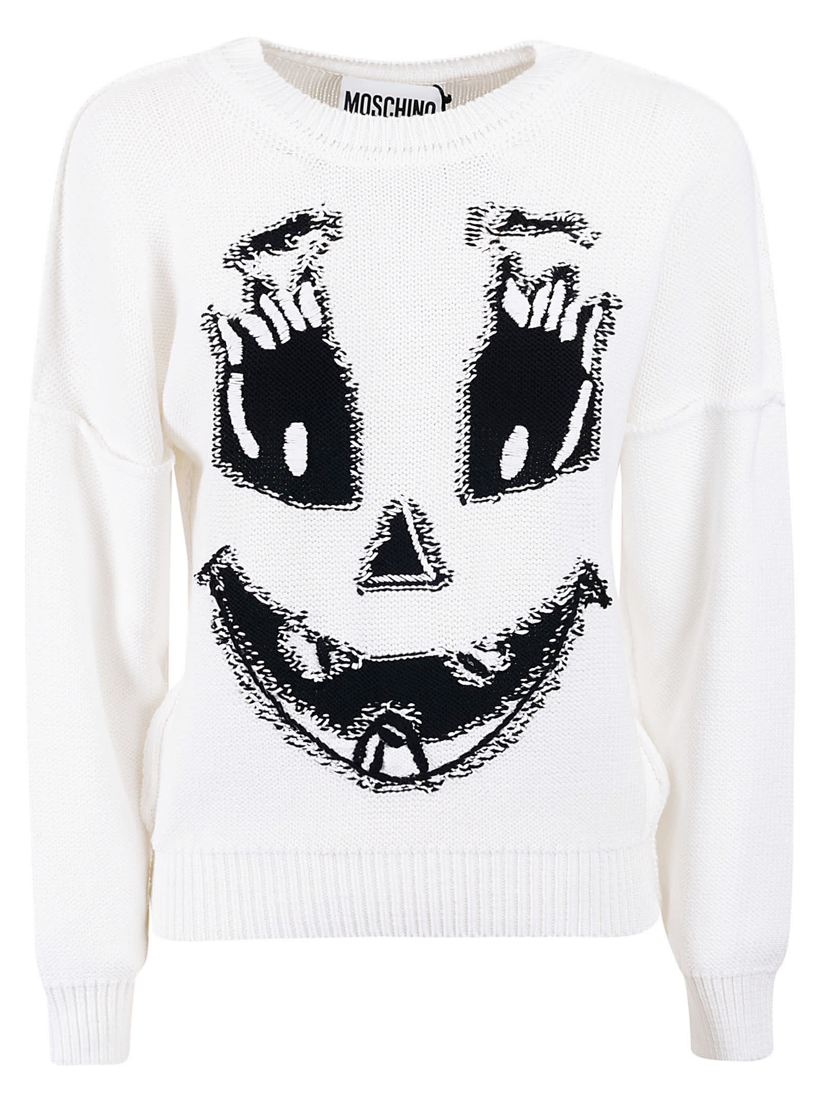 Moschino Rib Knit Sweatshirt