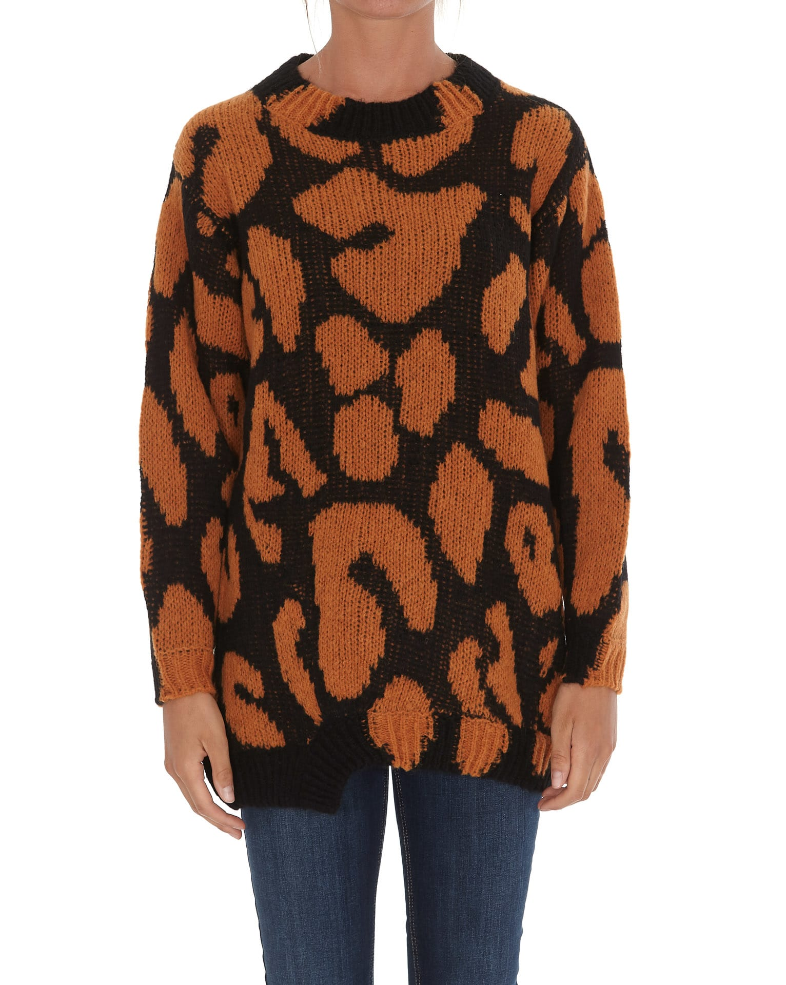 Stella Mccartney Animal Big Leopard Sweater
