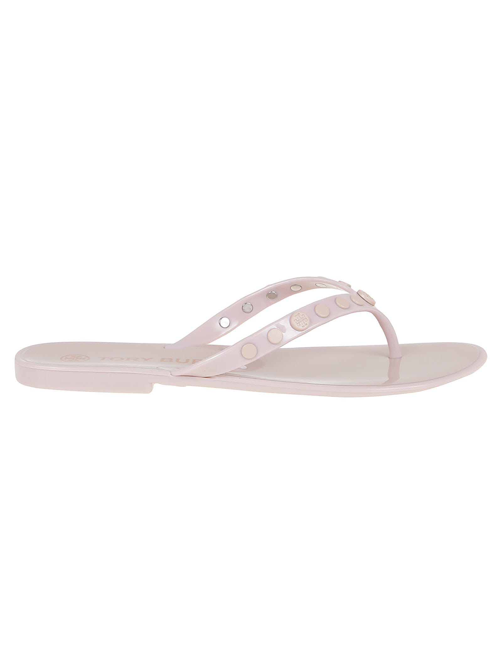 Buy Tory Burch Studded Jelly online, shop Tory Burch shoes with free shipping