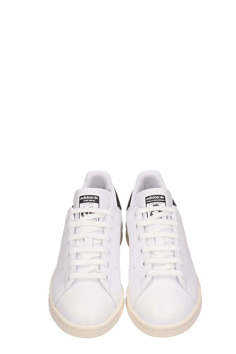 newest collection 22465 929d2 Adidas by Stella McCartney White Leather Stan Smith Sneakers Stella  Mccartney Collaboration