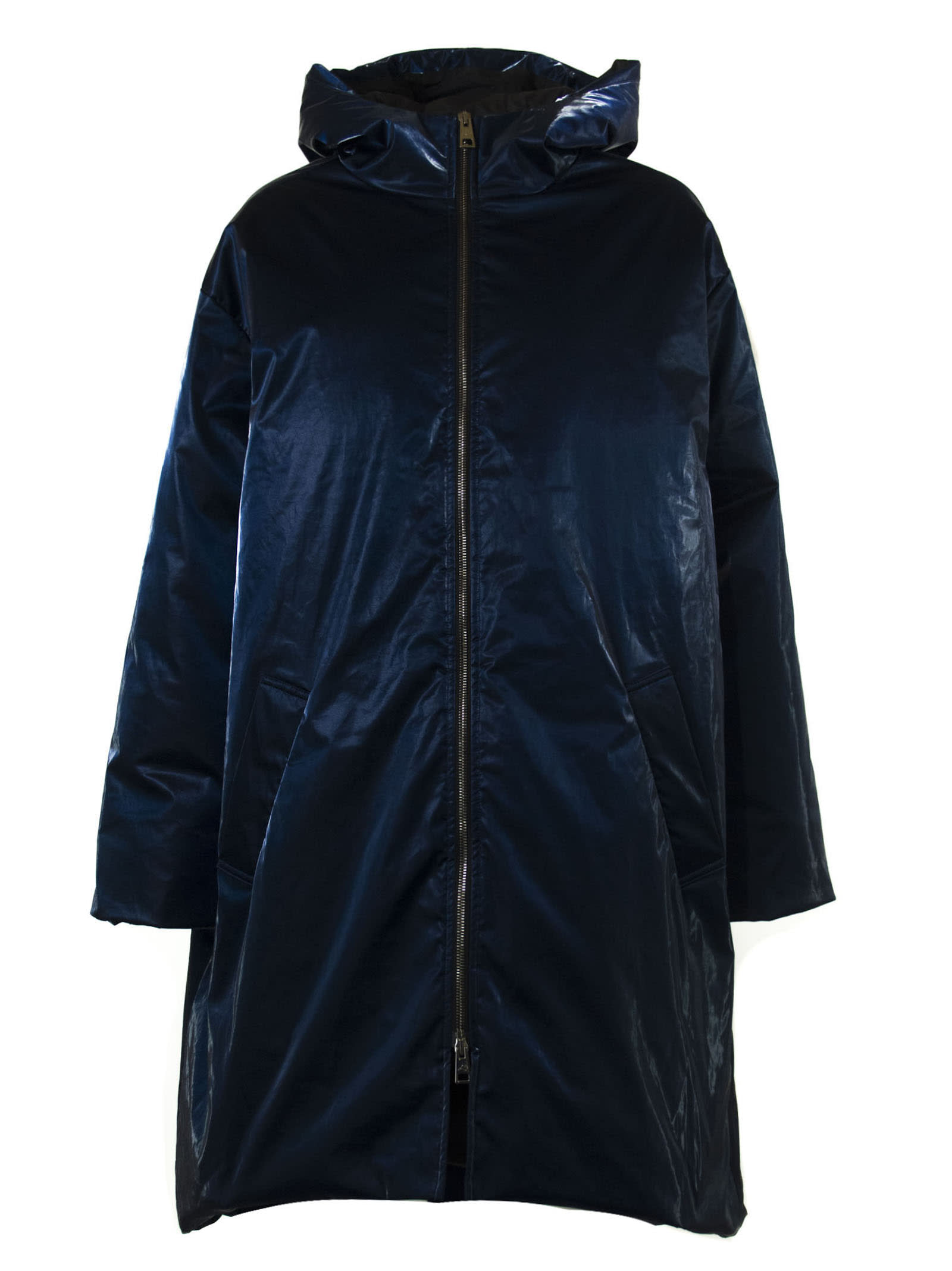 Goose Tech Midnight Blue Cotton Blend Jacket