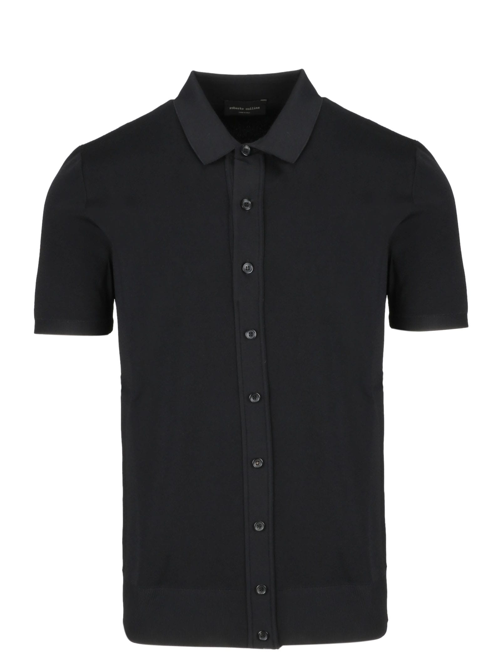 Roberto Collina Buttoned Polo Shirt