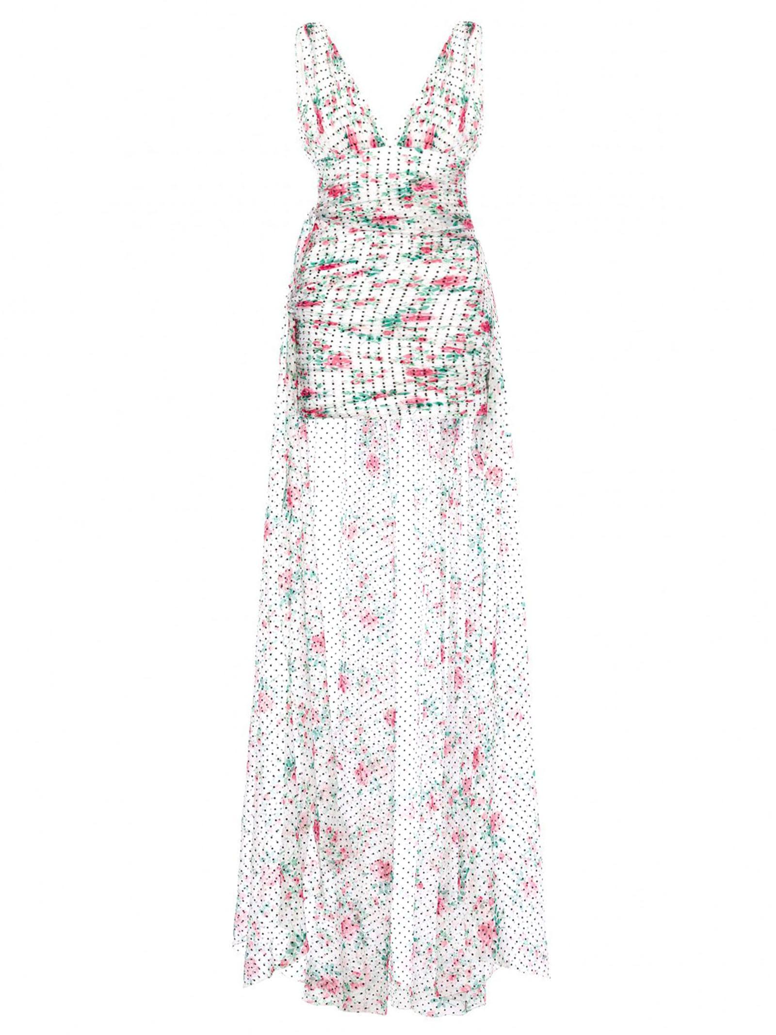 Buy Philosophy di Lorenzo Serafini Chiffon Mini Dress With Train online, shop Philosophy di Lorenzo Serafini with free shipping