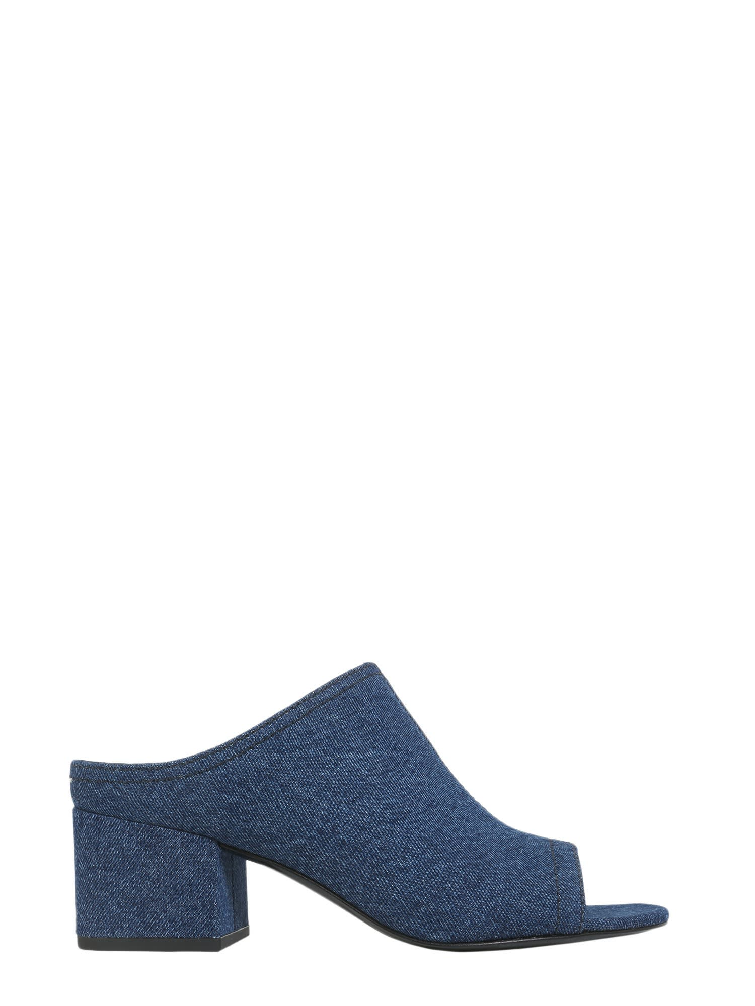 Buy 3.1 Phillip Lim Open Toe Cube Sabots online, shop 3.1 Phillip Lim shoes with free shipping