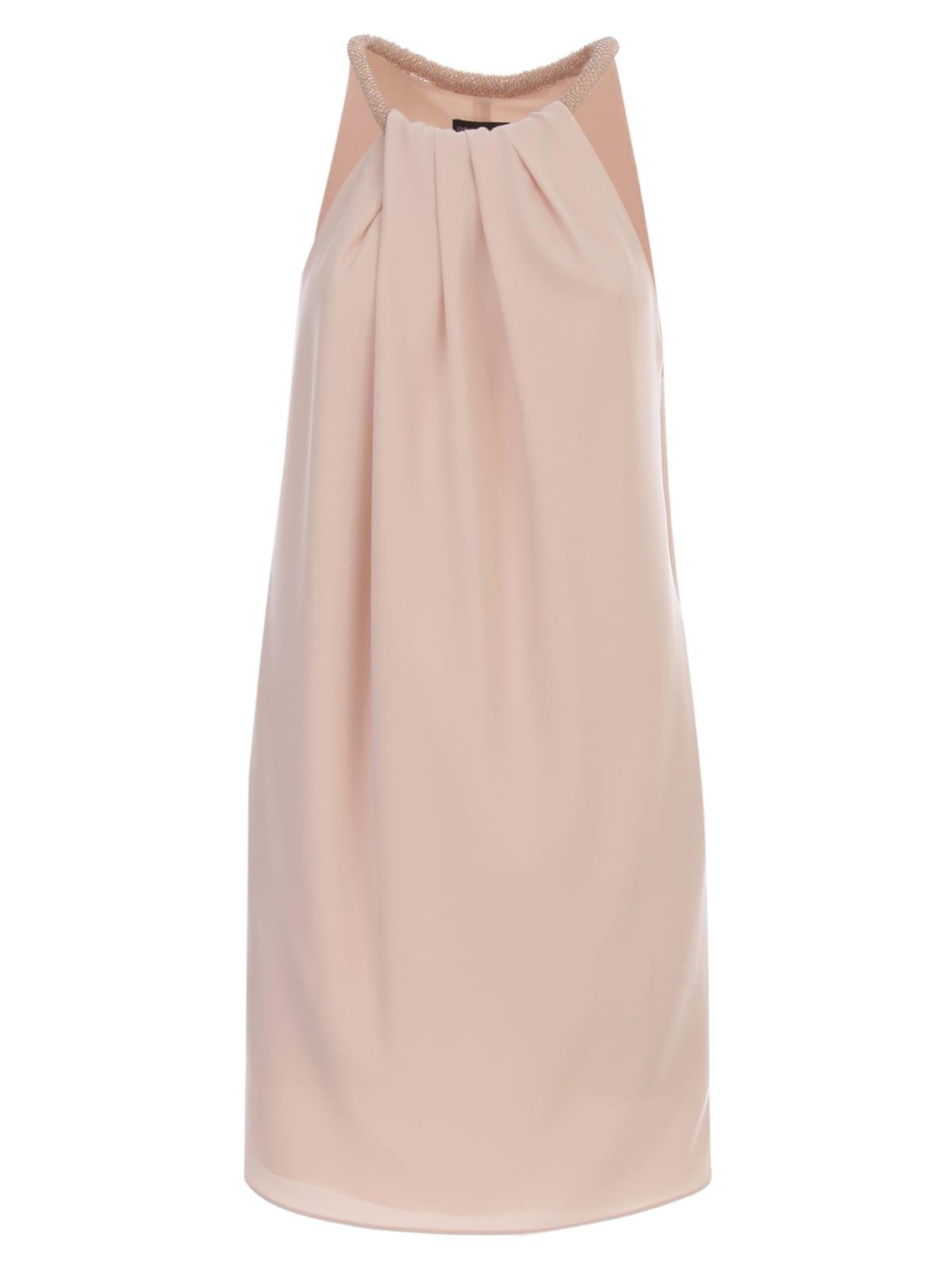 Buy Emporio Armani Dress W/s W/pearls Necklace online, shop Emporio Armani with free shipping